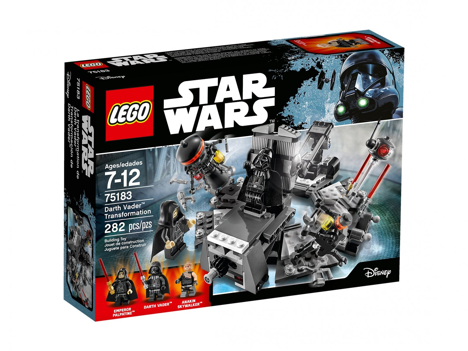LEGO Star Wars™ 75183 Transformacja Dartha Vadera™