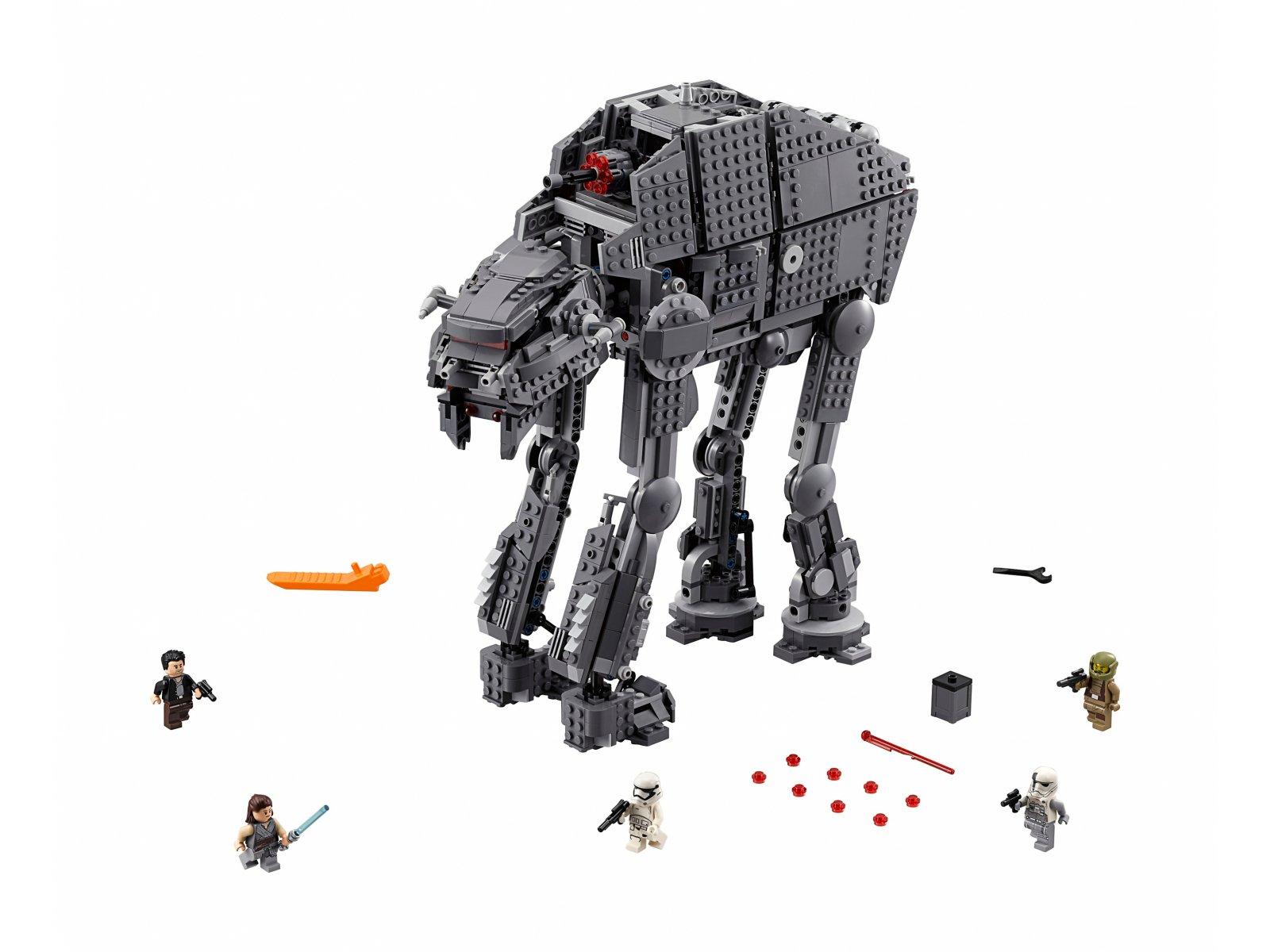 LEGO Star Wars™ Ciężka maszyna krocząca Najwyższego Porządku™ 75189