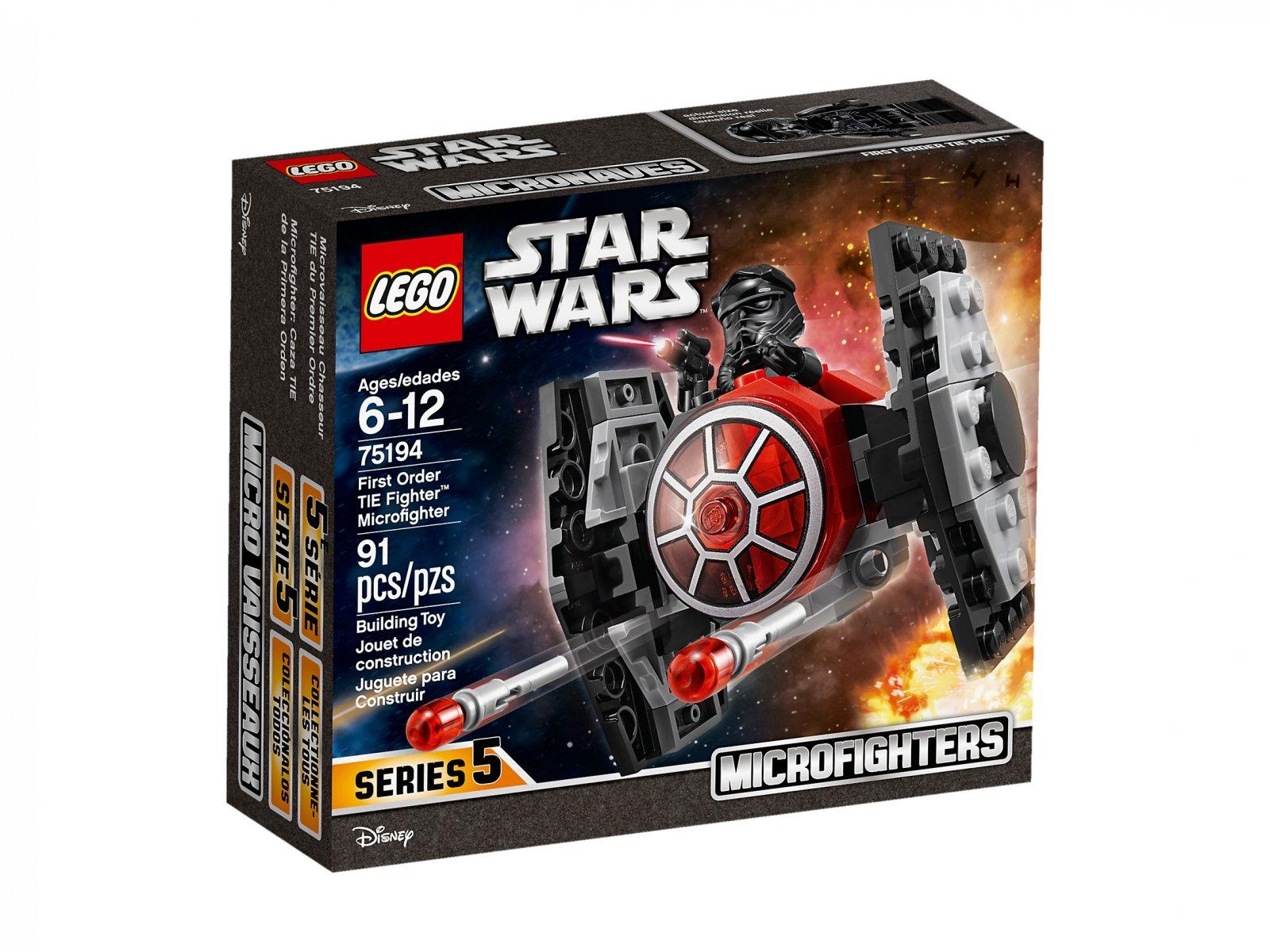 LEGO 75194 Star Wars™ Myśliwiec TIE Najwyższego porządku™