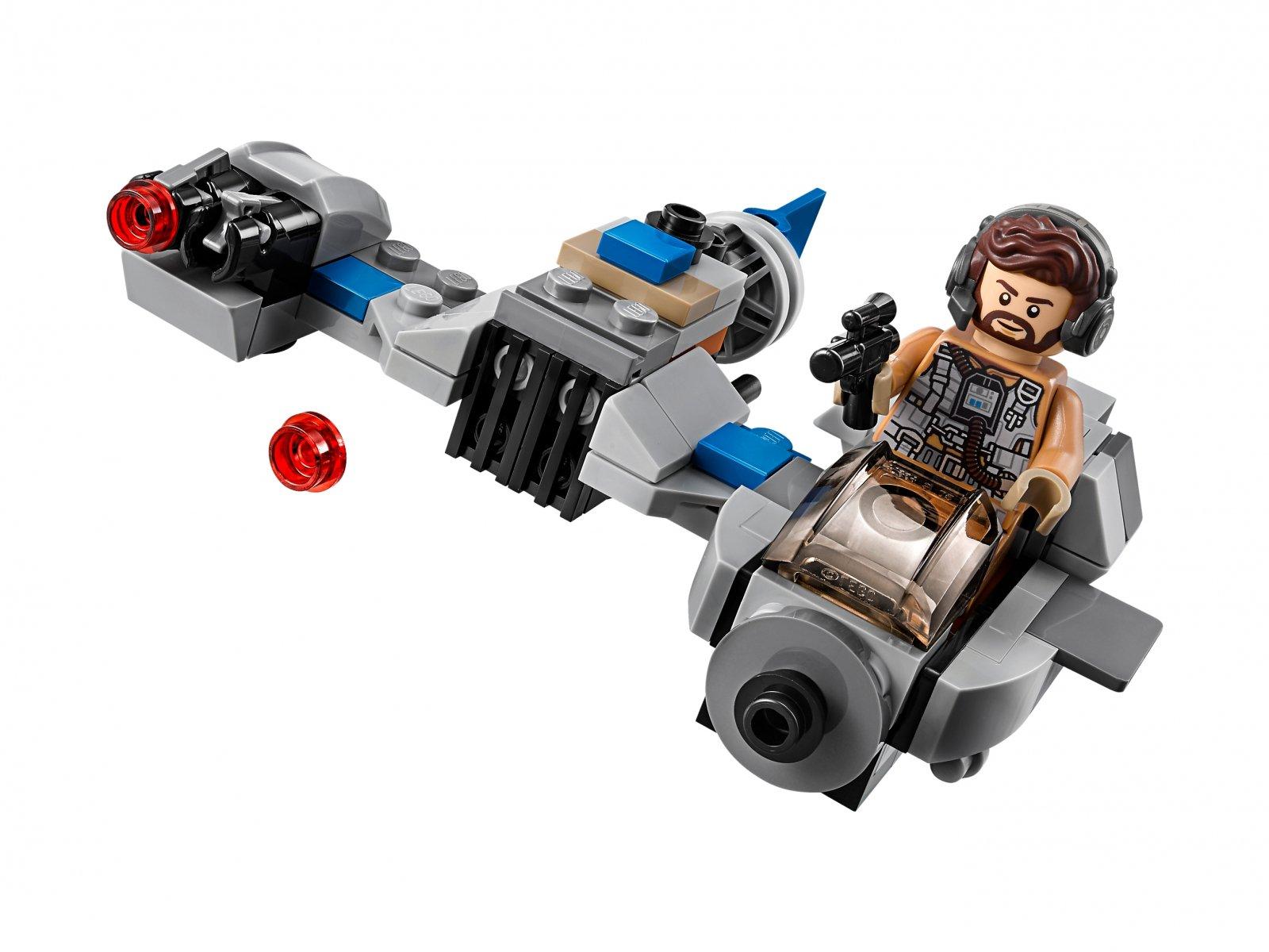 LEGO Star Wars™ Ski Speeder™ kontra Maszyna krocząca Najwyższego Porządku™ 75195