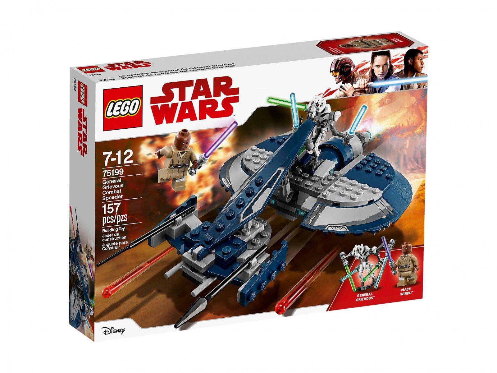 LEGO 75199 Ścigacz bojowy generała Grievousa