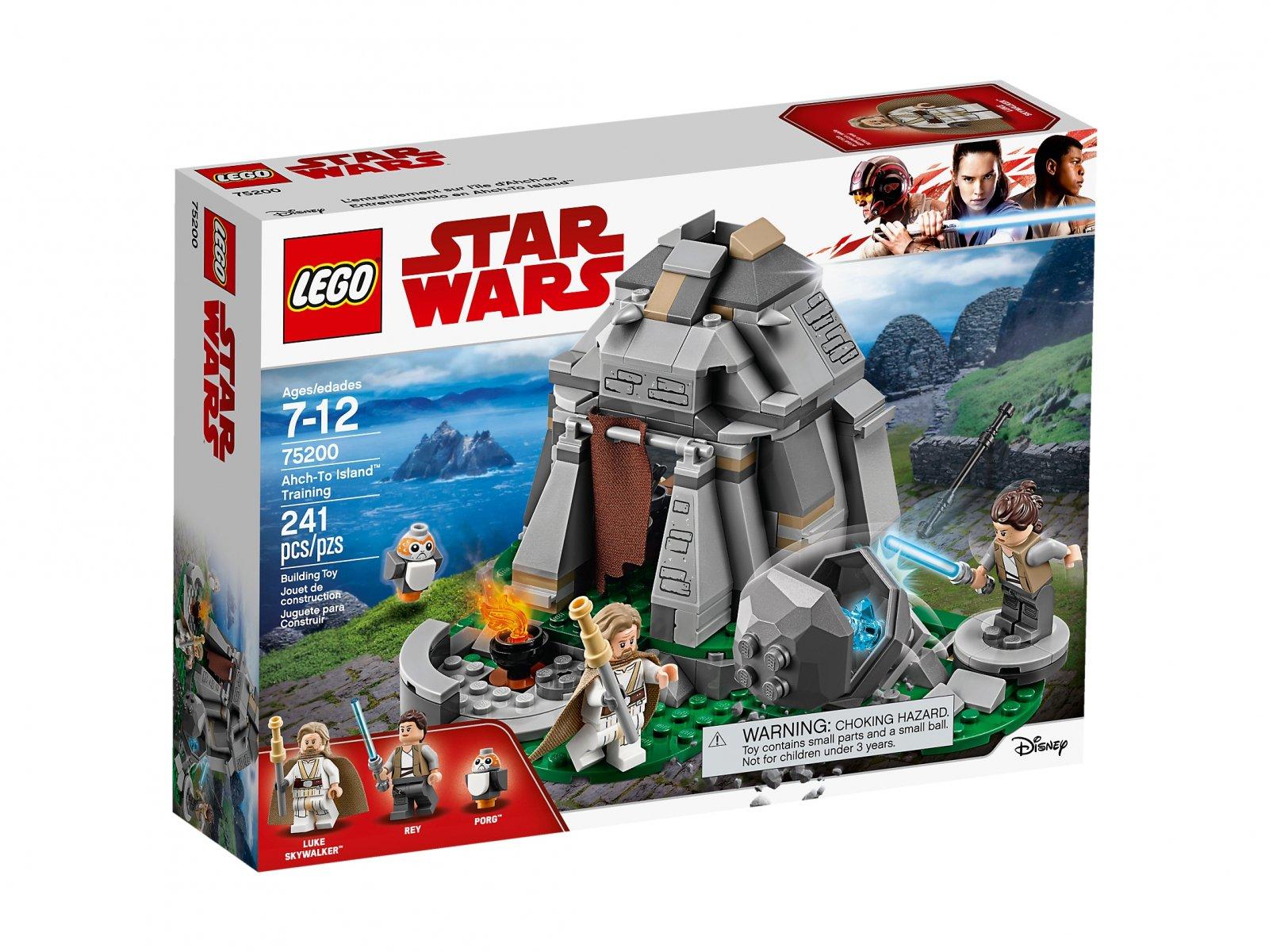 LEGO Star Wars™ Szkolenie na wyspie Ahch-To 75200