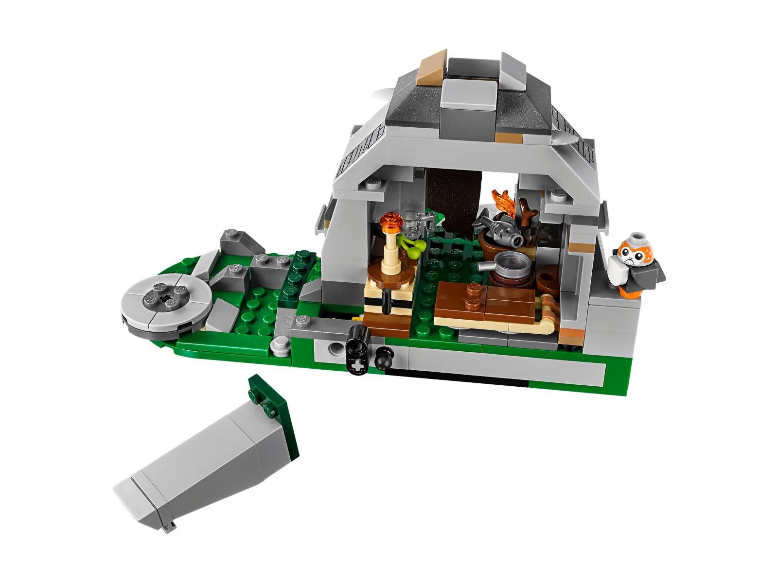 LEGO Star Wars™ Szkolenie na wyspie Ahch-To