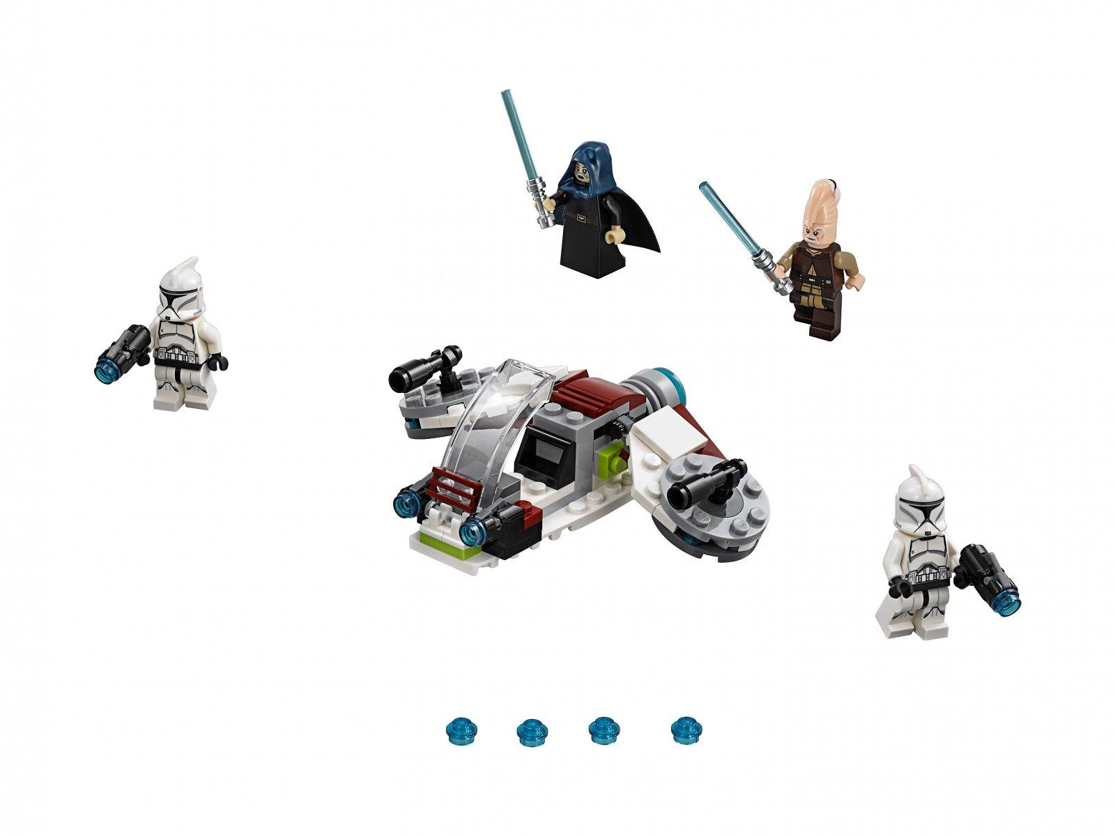LEGO 75206 Star Wars™ Jedi™ i żołnierze armii klonów™