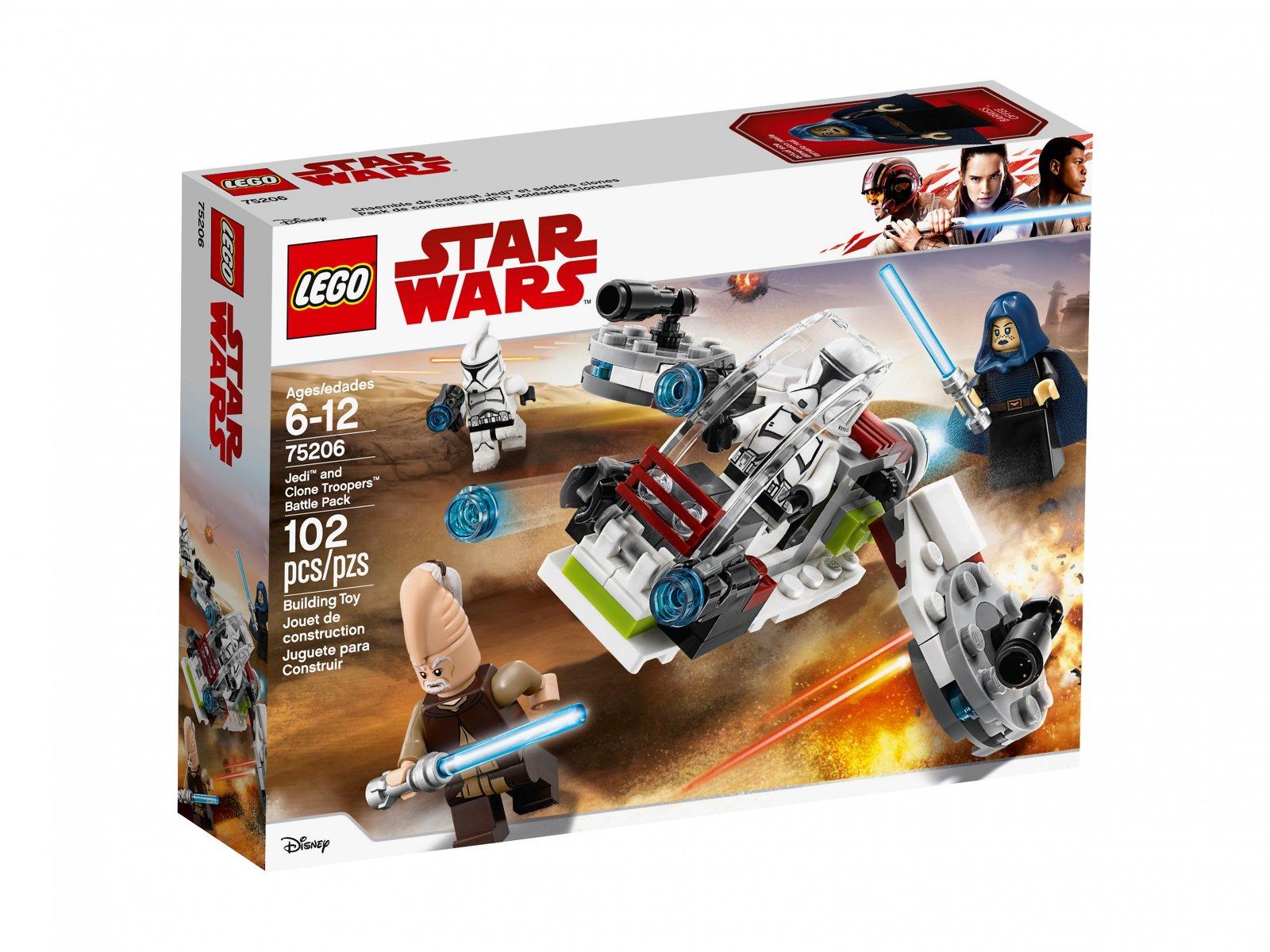 LEGO Star Wars™ Jedi™ i żołnierze armii klonów™ 75206