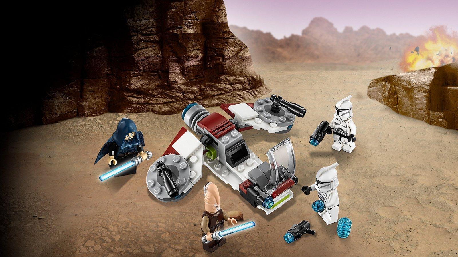 LEGO Star Wars™ Jedi™ i żołnierze armii klonów™