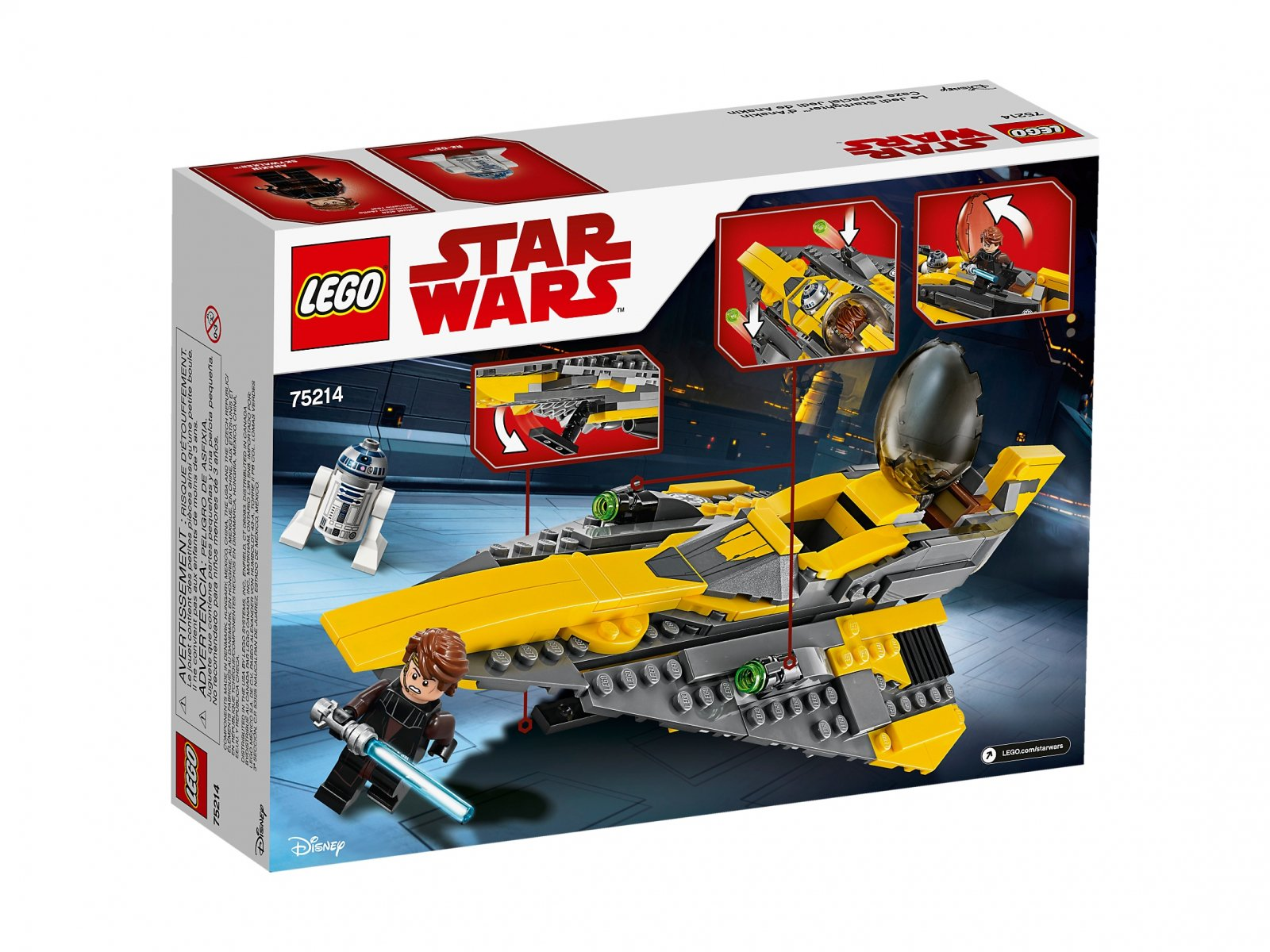 LEGO Star Wars™ 75214 Jedi Starfighter Anakina™