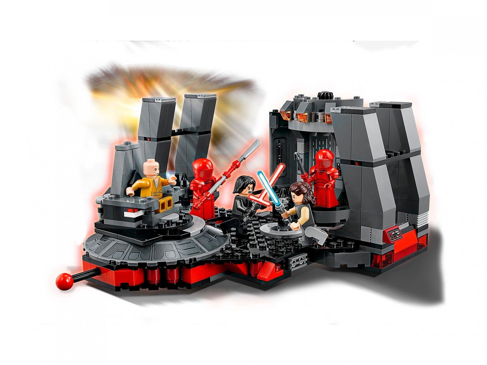 LEGO 75216 Star Wars™ Sala Tronowa Snoke'a