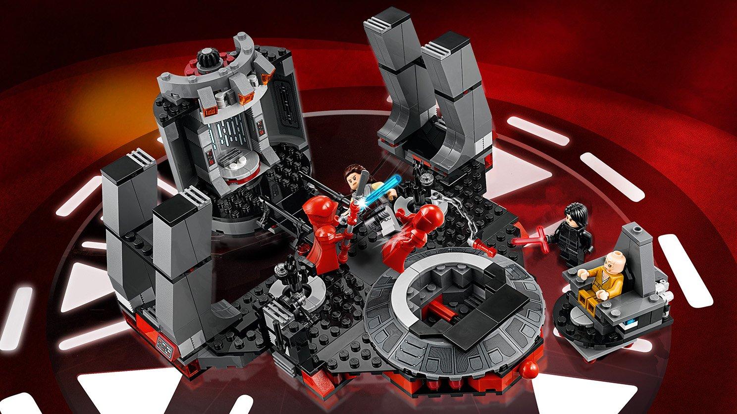 LEGO Star Wars™ Sala Tronowa Snoke'a 75216