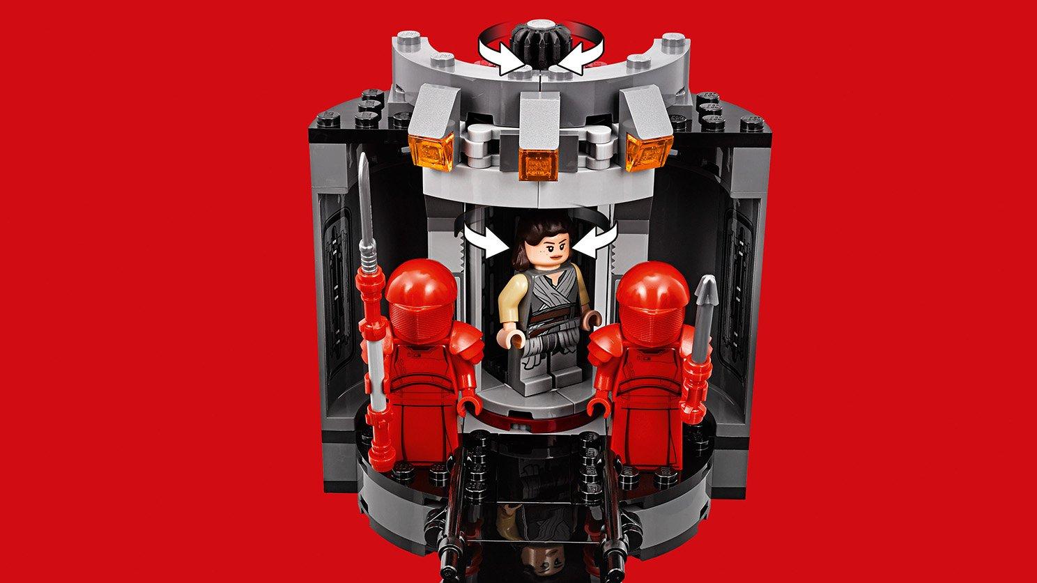 LEGO Star Wars™ Sala Tronowa Snoke'a