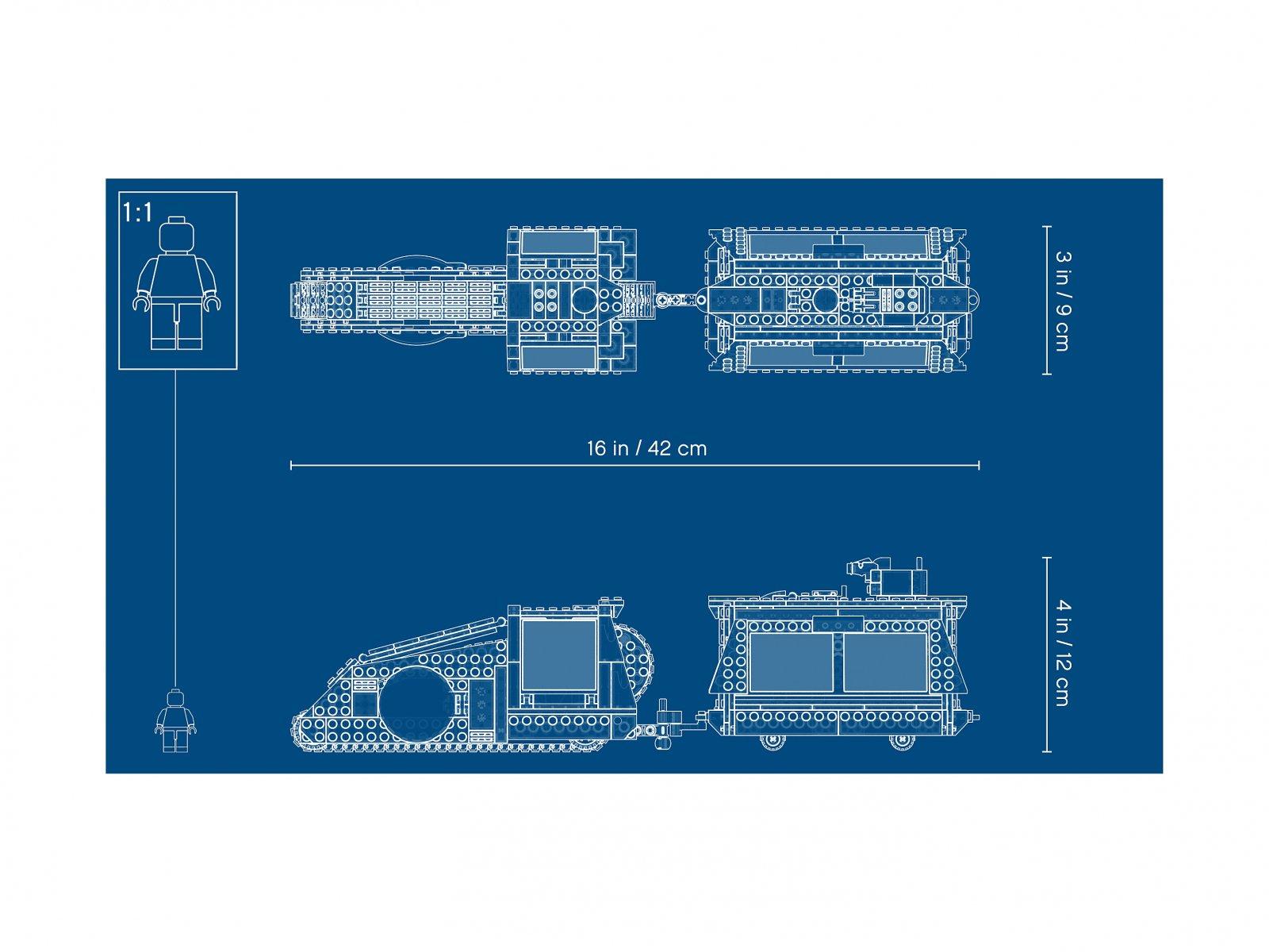 LEGO Star Wars™ Imperialny transporter Conveyex™