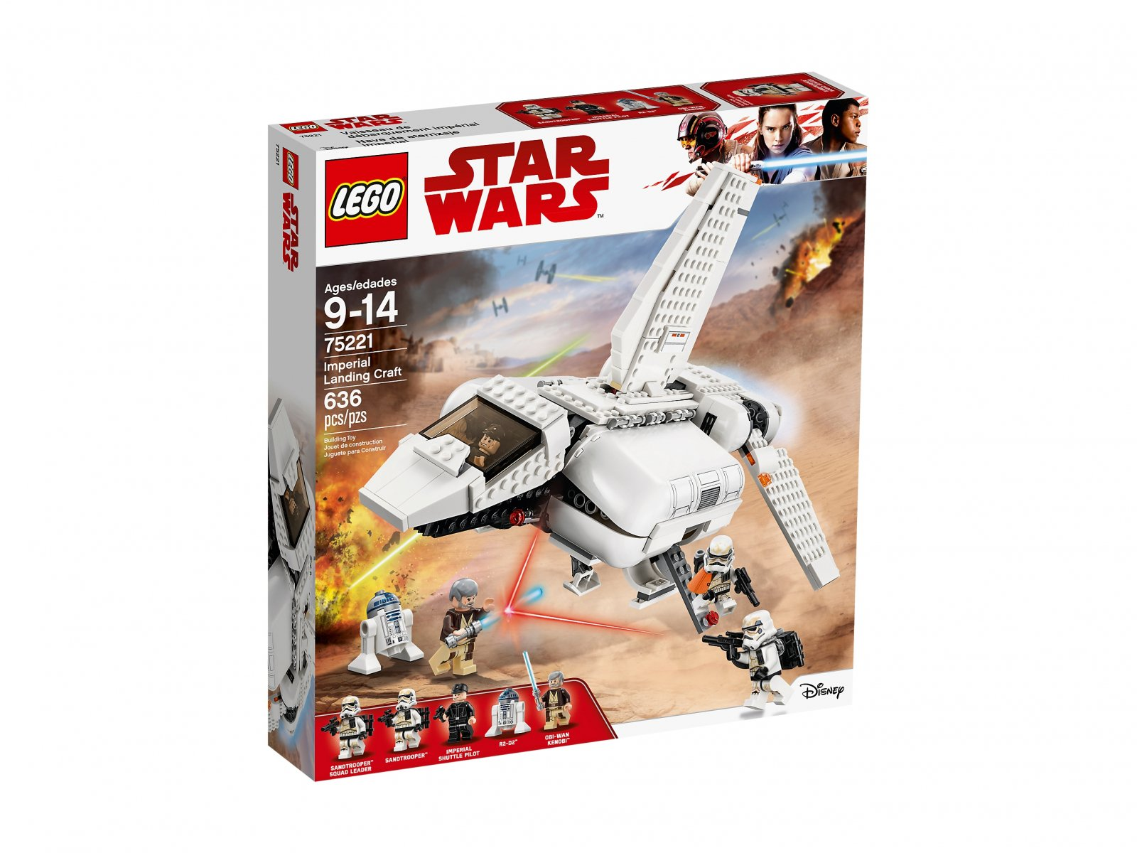 LEGO Star Wars™ Pojazd desantowy Imperium