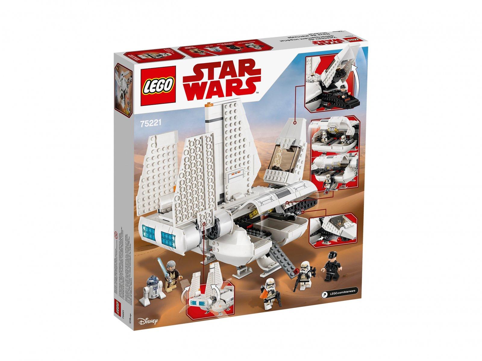 LEGO Star Wars™ Pojazd desantowy Imperium 75221