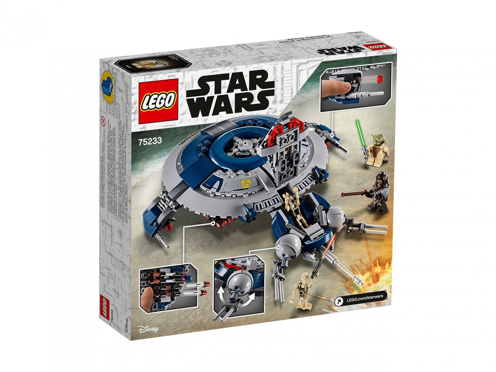 LEGO Star Wars™ 75233 Okręt bojowy droidów™