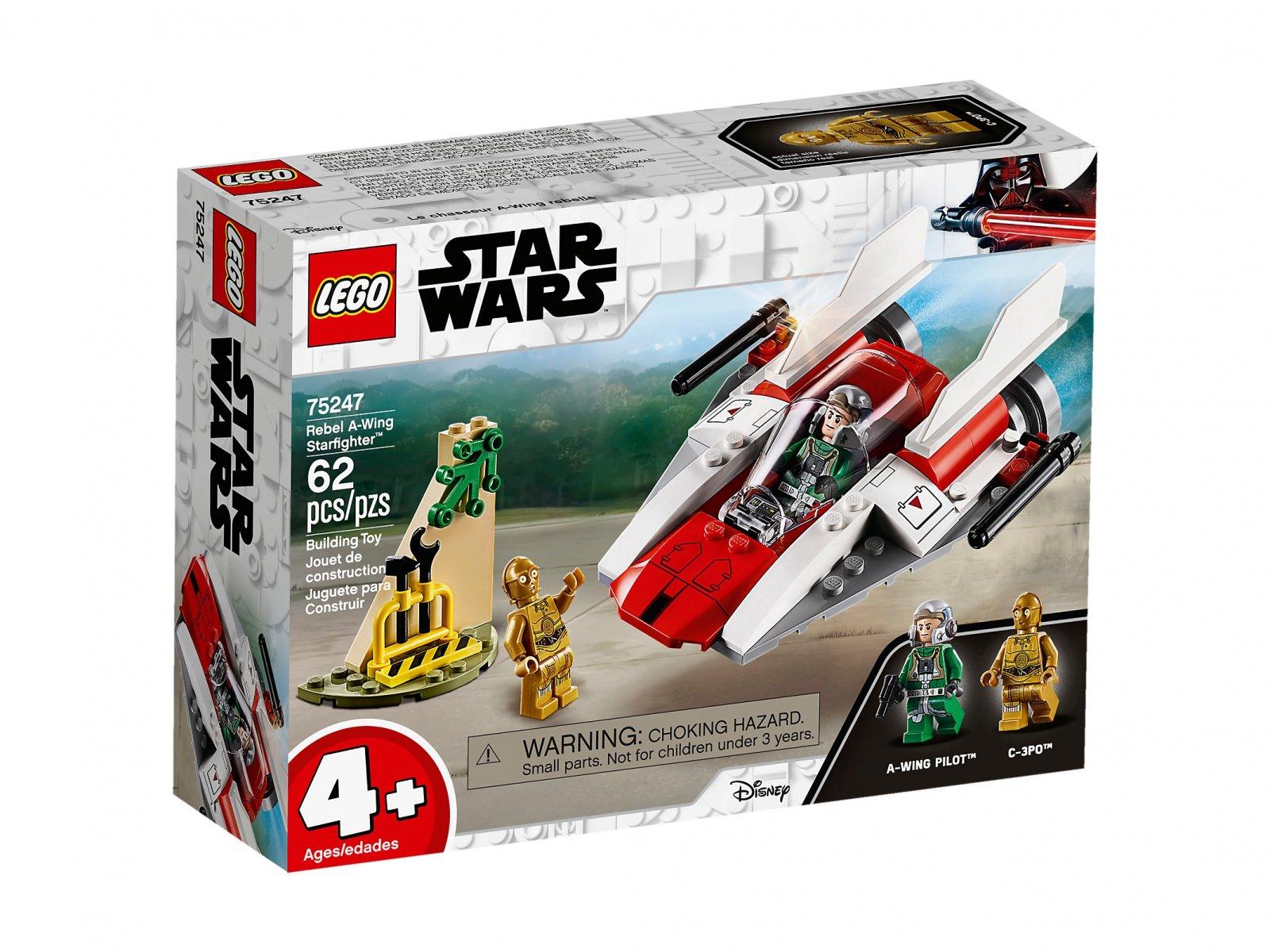 LEGO Star Wars™ Rebeliancki myśliwiec A-Wing™ 75247