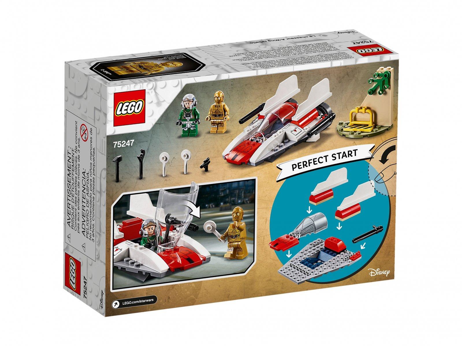 LEGO Star Wars™ 75247 Rebeliancki myśliwiec A-Wing™