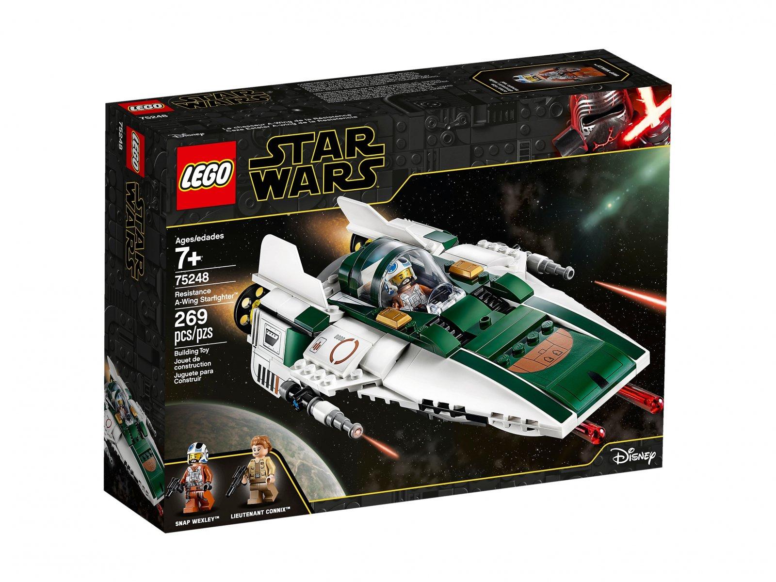 LEGO 75248 Star Wars™ Myśliwiec A-Wing Ruchu Oporu™
