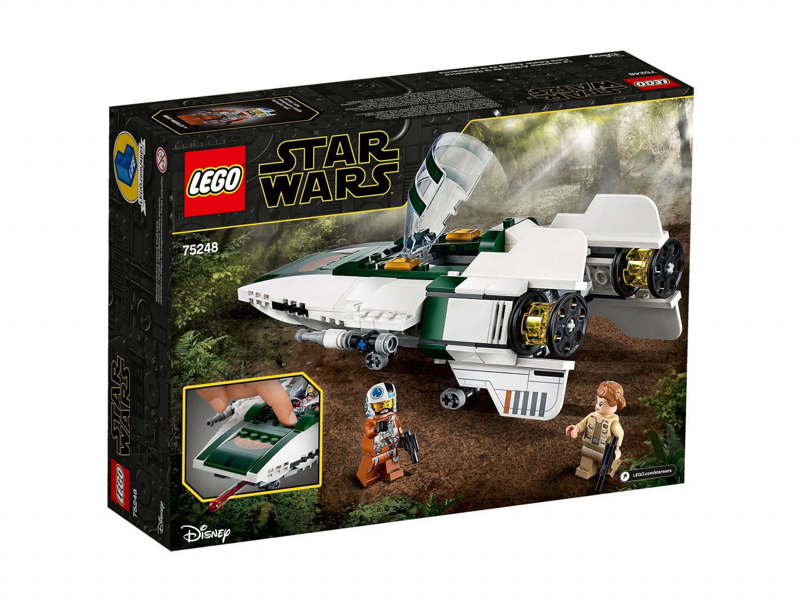 LEGO Star Wars™ Myśliwiec A-Wing Ruchu Oporu™ 75248