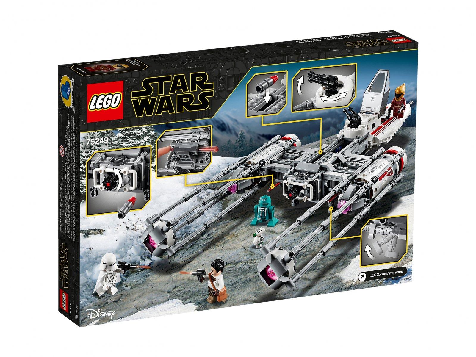 LEGO 75249 Myśliwiec Y-Wing Ruchu Oporu™