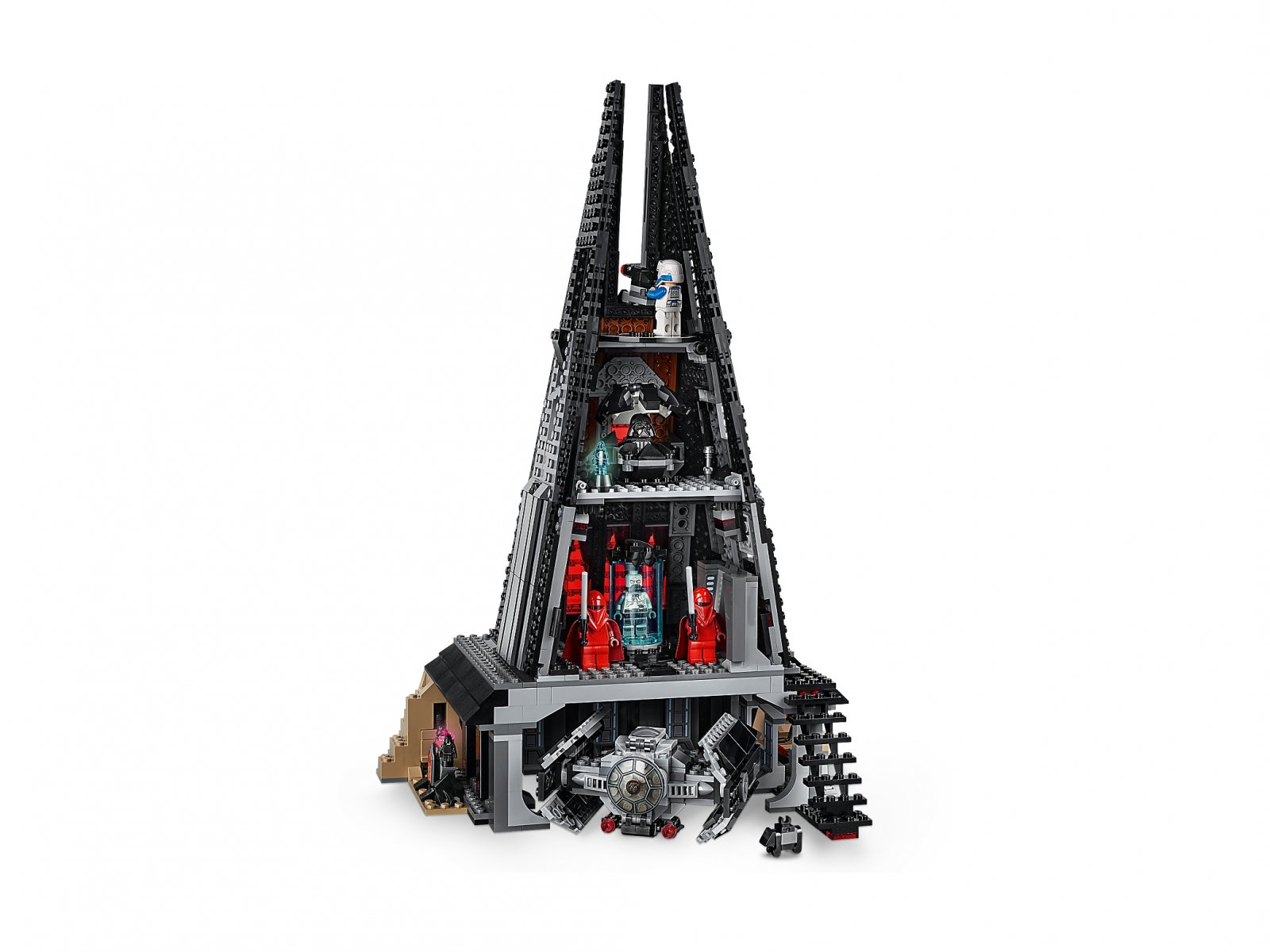 LEGO Star Wars™ Zamek Dartha Vadera 75251