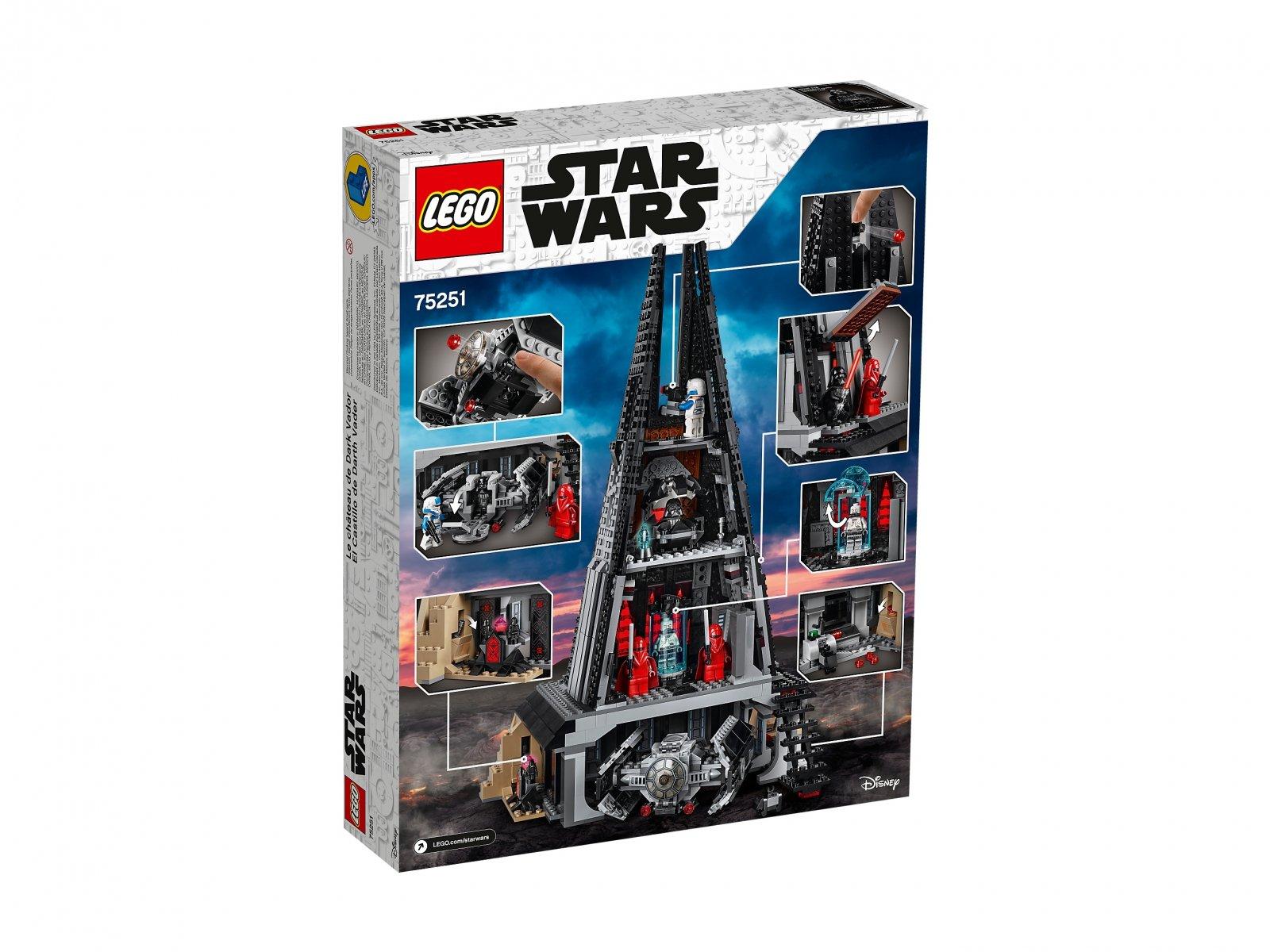 LEGO Star Wars™ 75251 Zamek Dartha Vadera