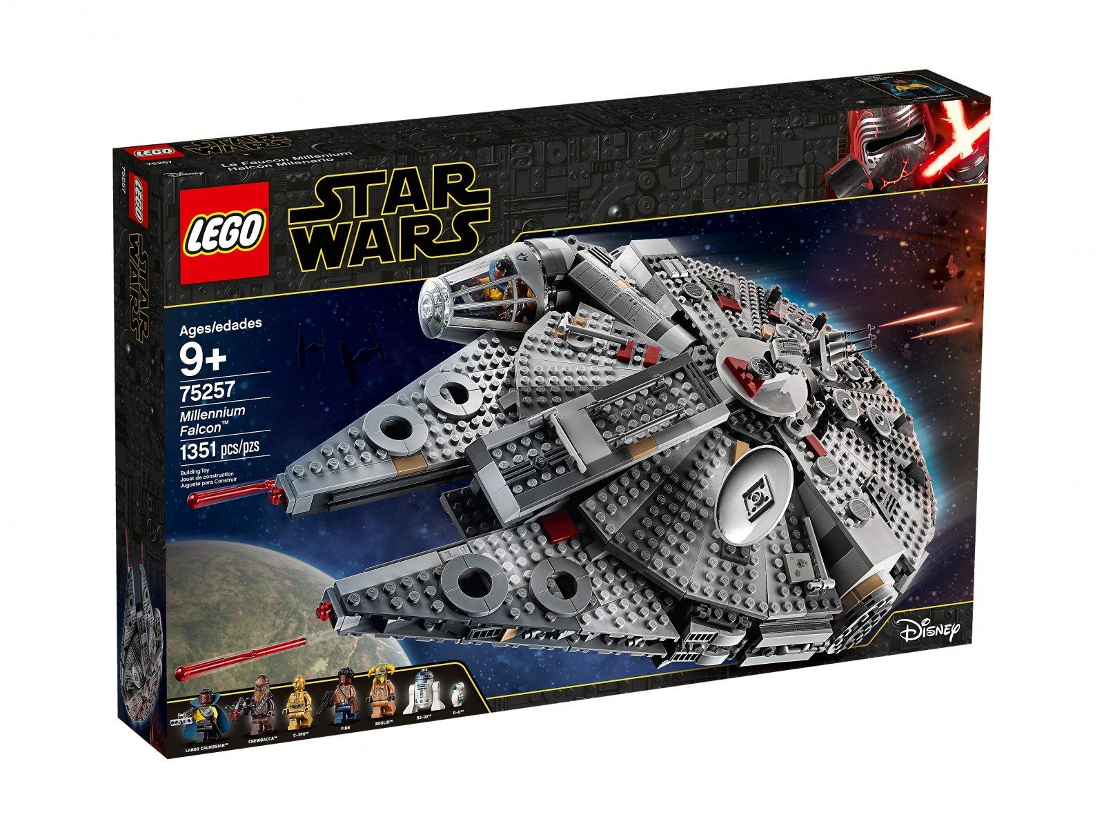 LEGO 75257 Star Wars™ Sokół Millennium™