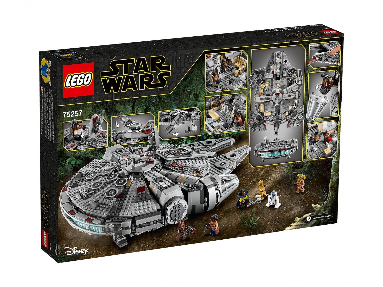 LEGO Star Wars™ 75257 Sokół Millennium™