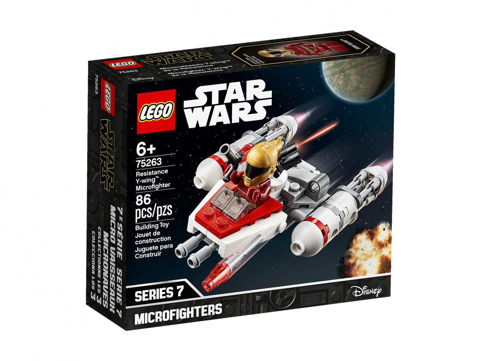 LEGO 75263 Star Wars™ Mikromyśliwiec Y-Wing™ Ruchu Oporu
