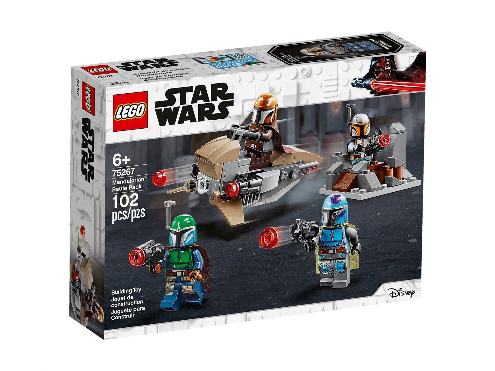 LEGO 75267 Star Wars™ Zestaw bojowy Mandalorianina™