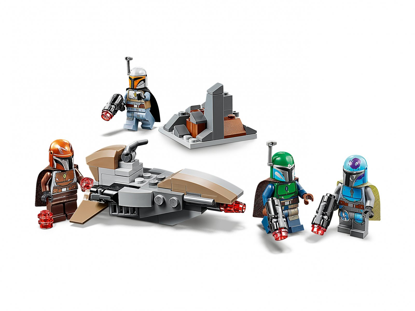 LEGO 75267 Zestaw bojowy Mandalorianina™