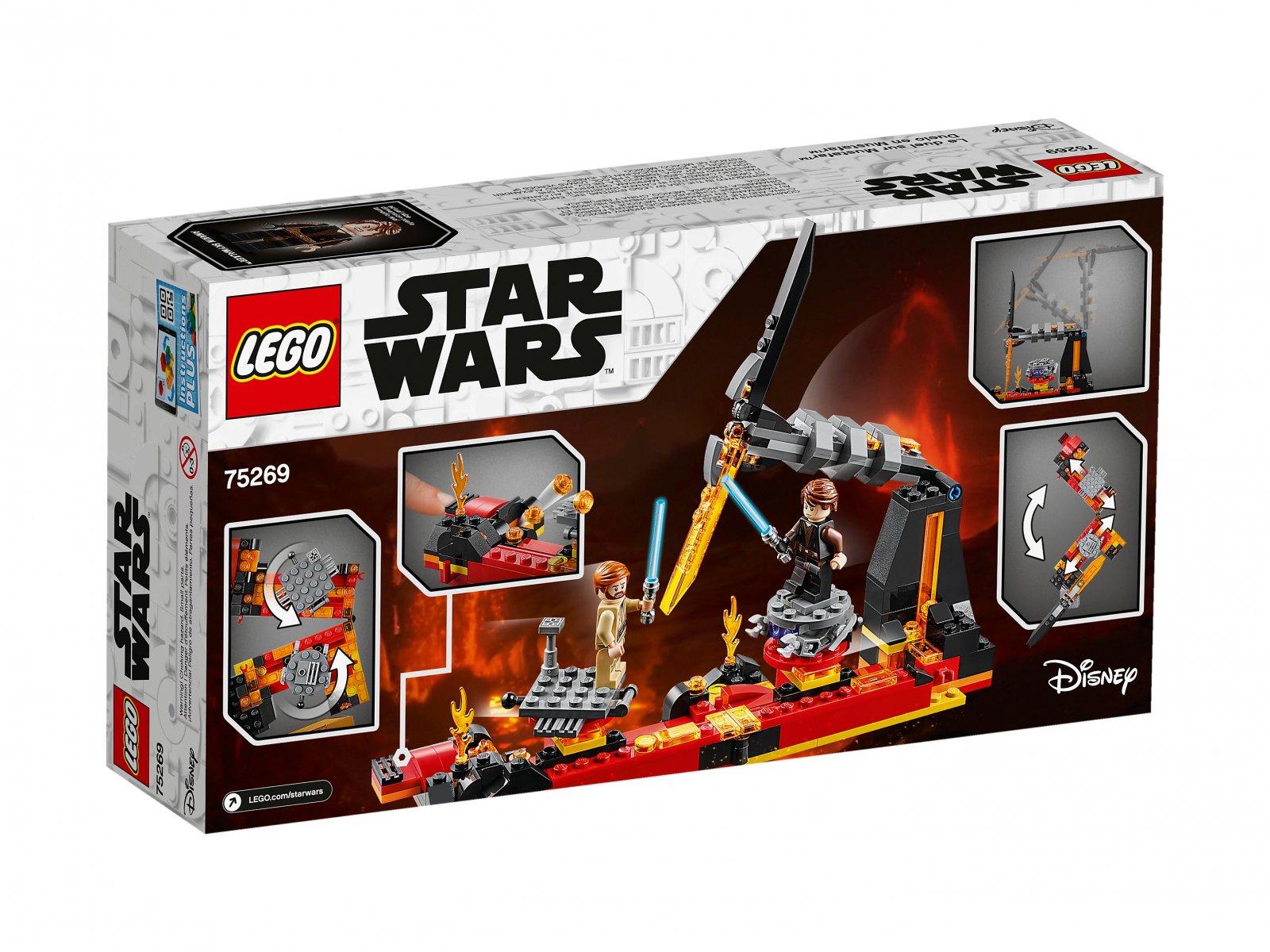LEGO 75269 Star Wars™ Pojedynek na planecie Mustafar™