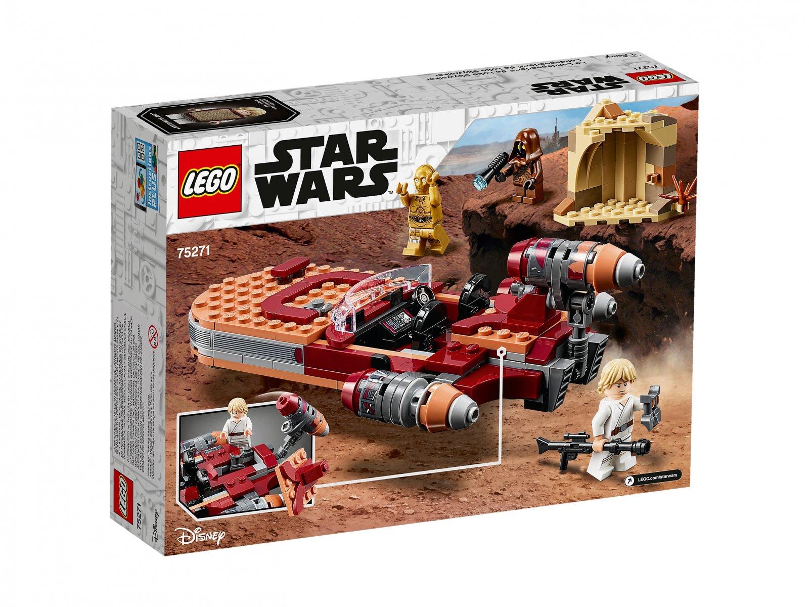 LEGO 75271 Śmigacz Luke'a Skywalkera™