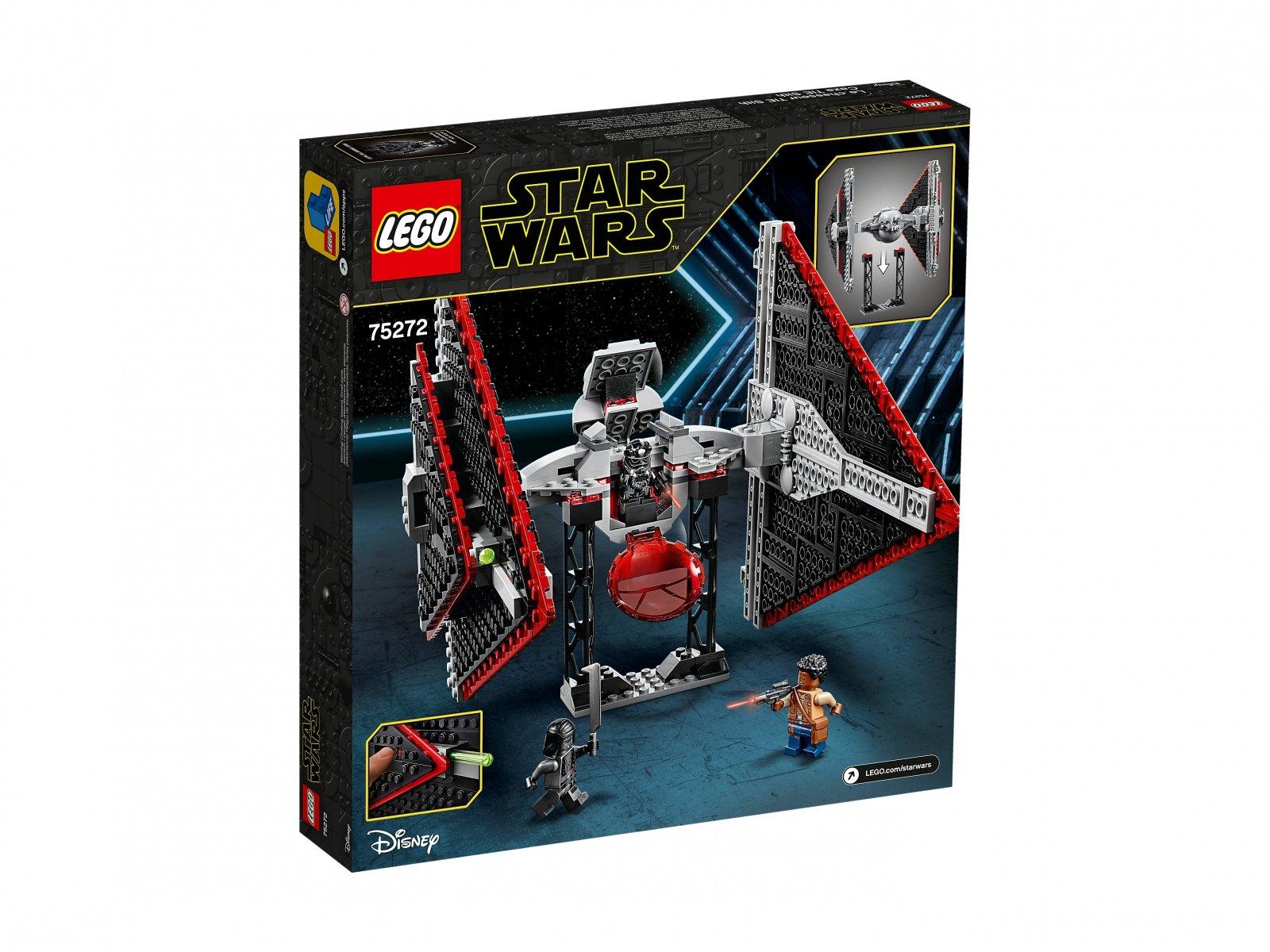 LEGO 75272 Star Wars™ Myśliwiec TIE Sithów™