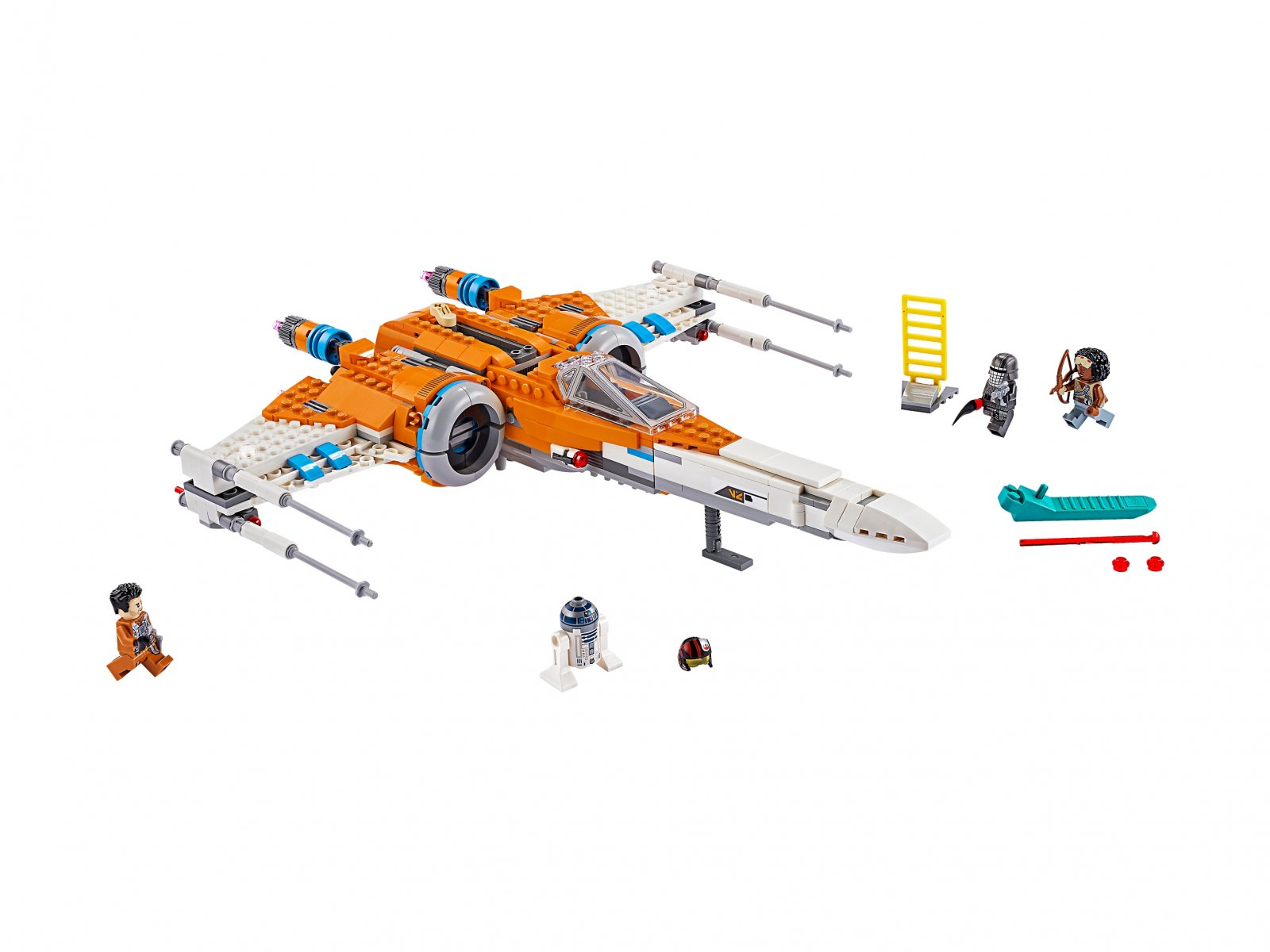 LEGO Star Wars™ 75273 Myśliwiec X-Wing Poe Damerona™