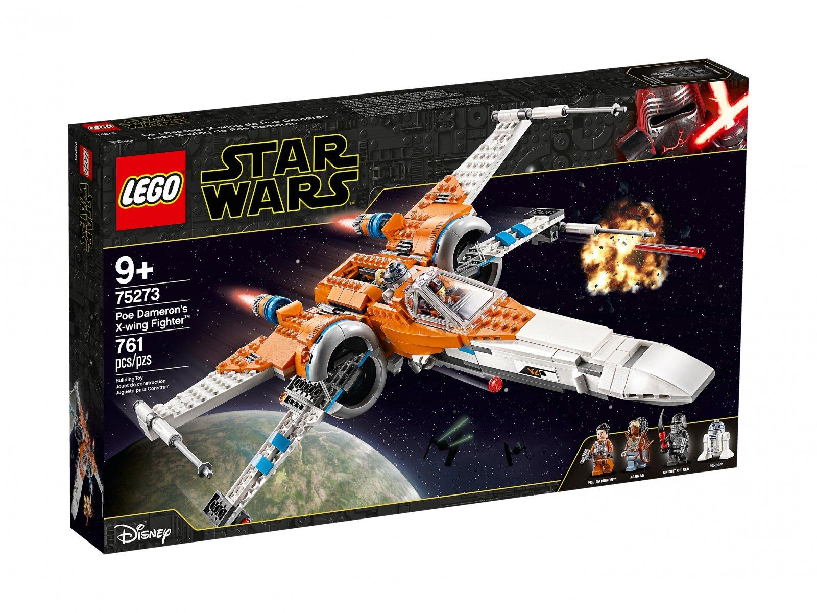 LEGO 75273 Myśliwiec X-Wing Poe Damerona™