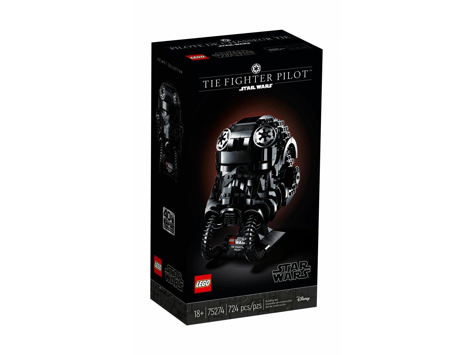 LEGO Star Wars™ 75274 Hełm pilota myśliwca TIE™