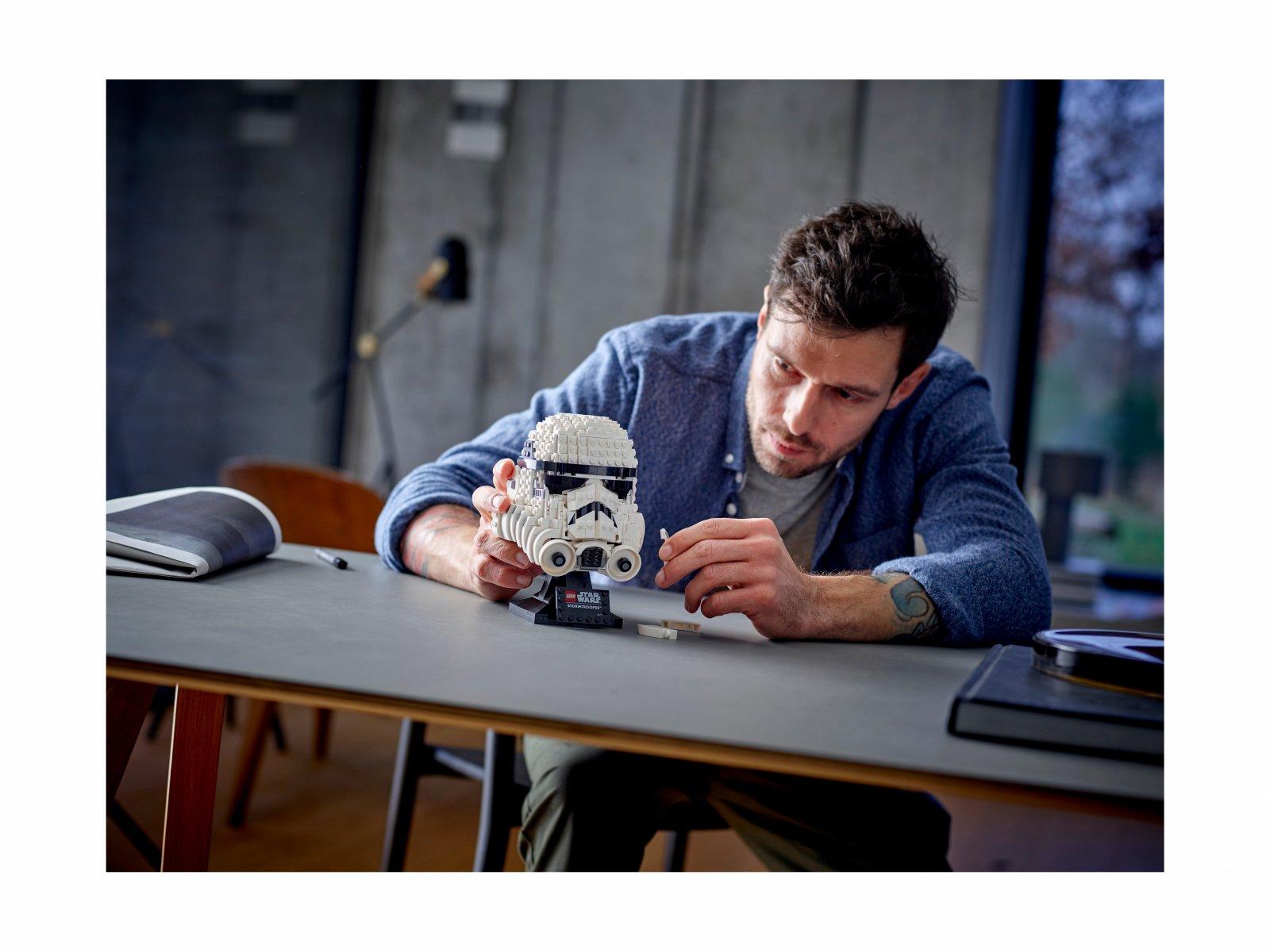 LEGO Star Wars™ 75276 Hełm szturmowca™