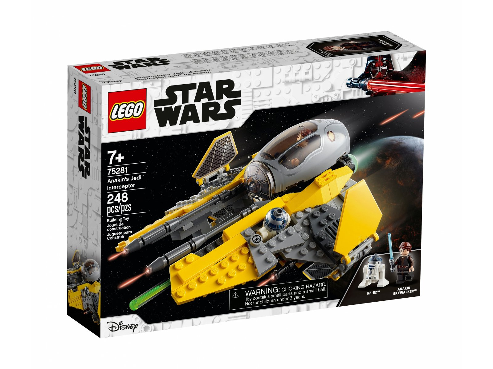 LEGO Star Wars 75281 Jedi™ Interceptor Anakina