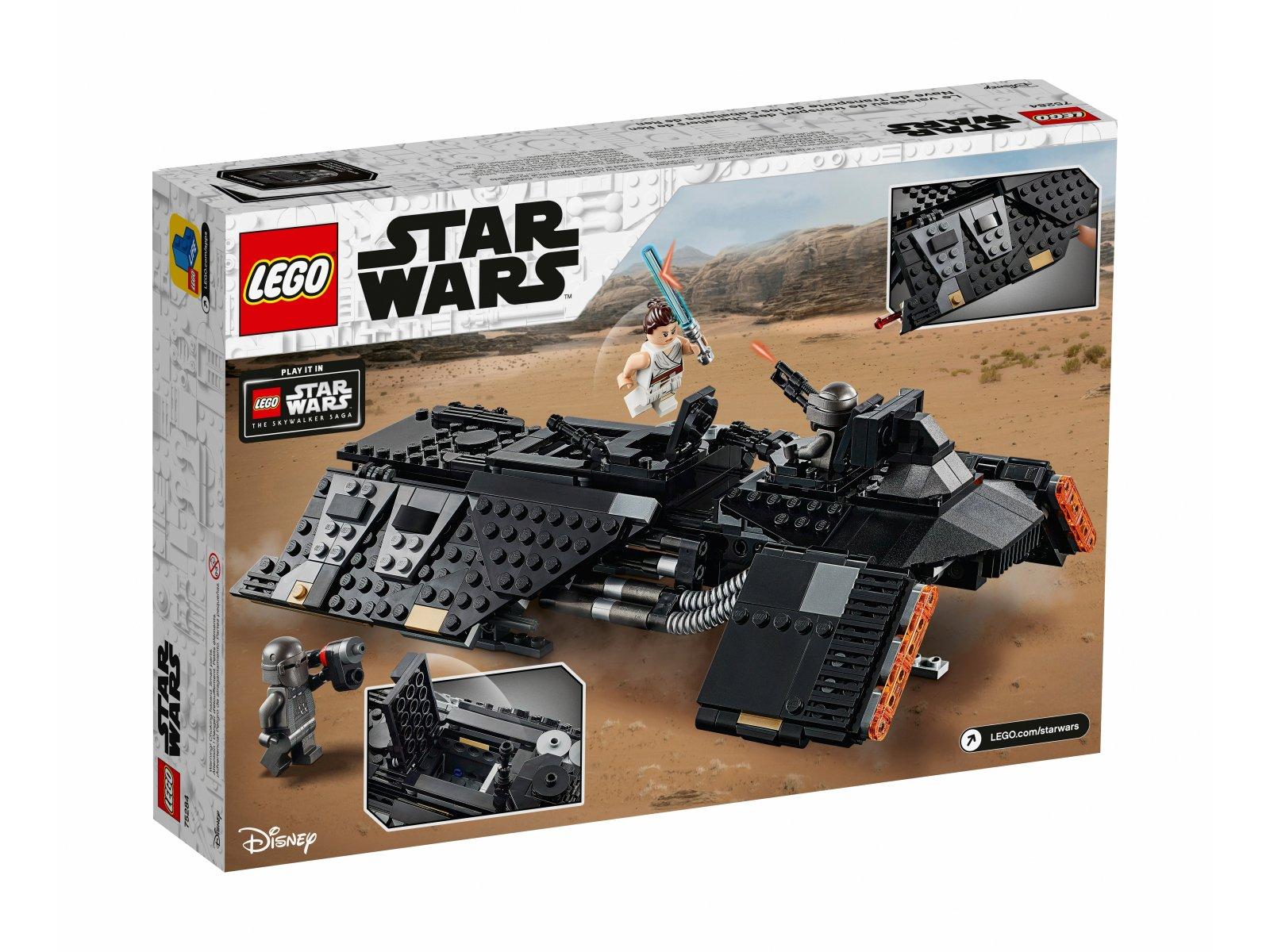 LEGO 75284 Statek transportowy Rycerzy Ren™
