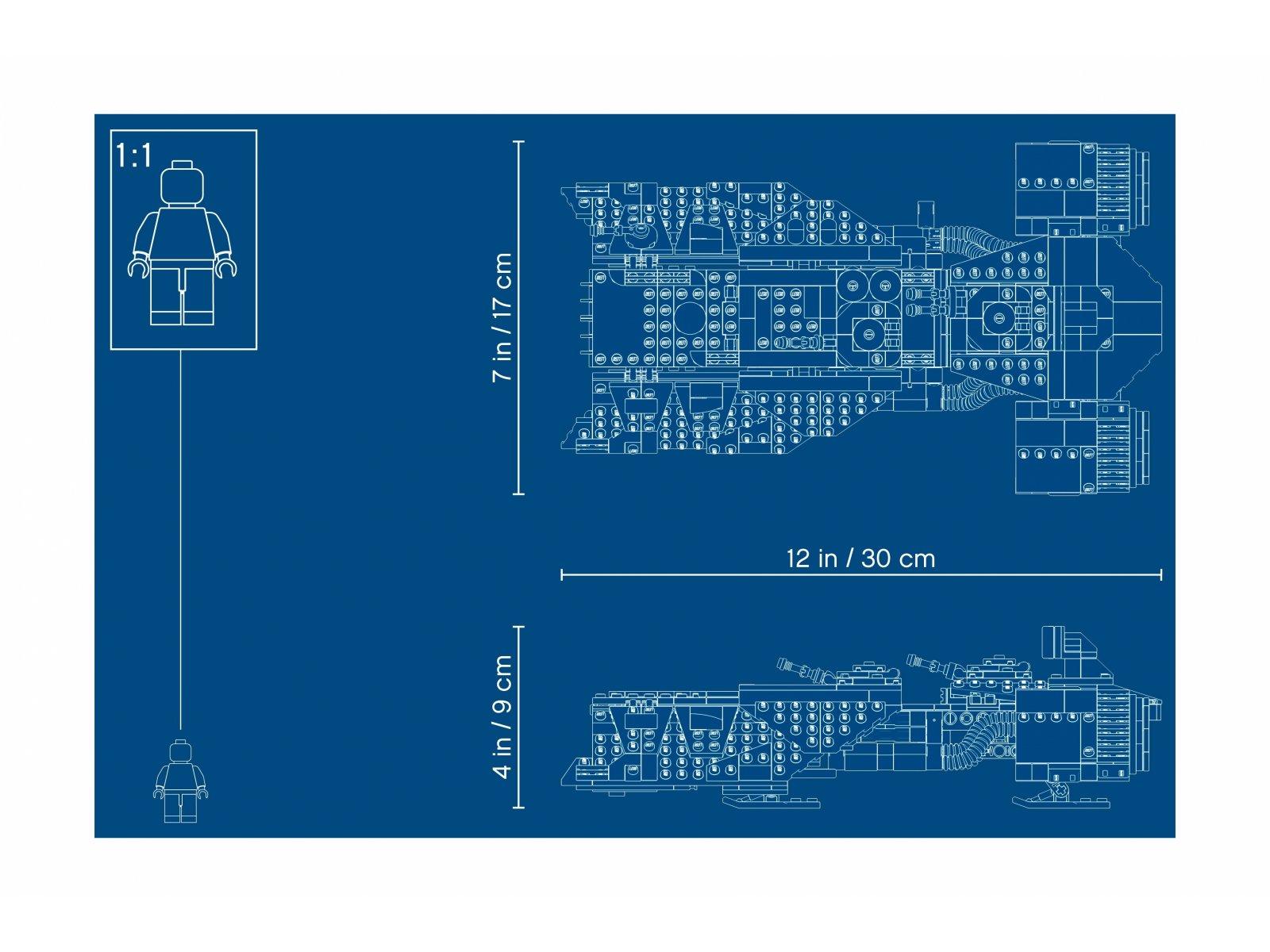 LEGO Star Wars Statek transportowy Rycerzy Ren™ 75284