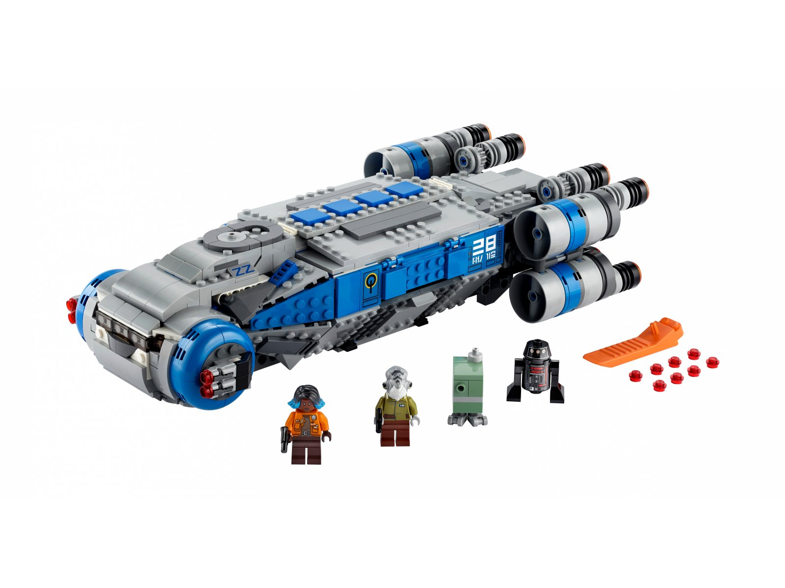 LEGO 75293 Star Wars™ Pojazd transportowy I-TS Ruchu Oporu