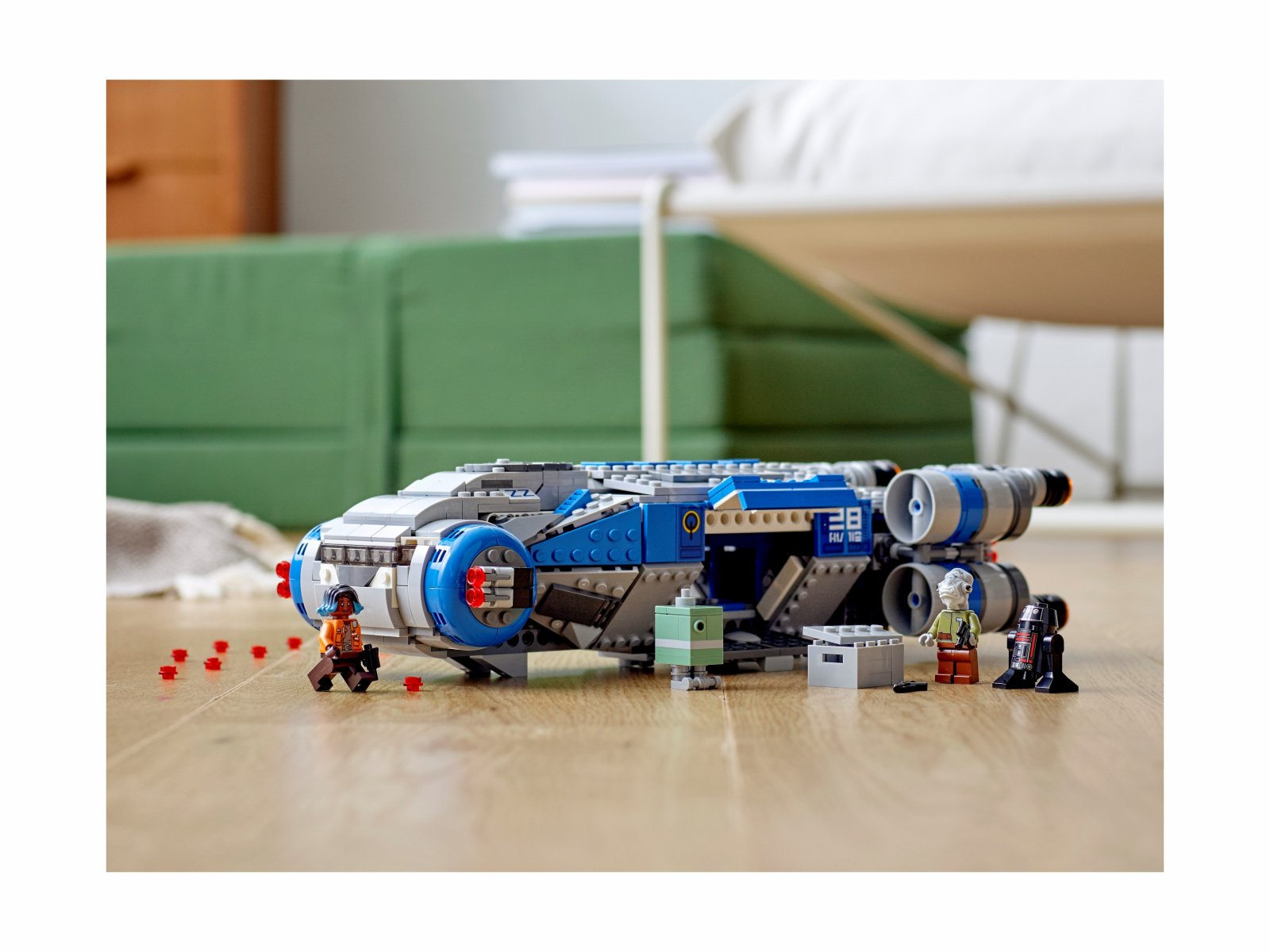 LEGO 75293 Star Wars Pojazd transportowy I-TS Ruchu Oporu