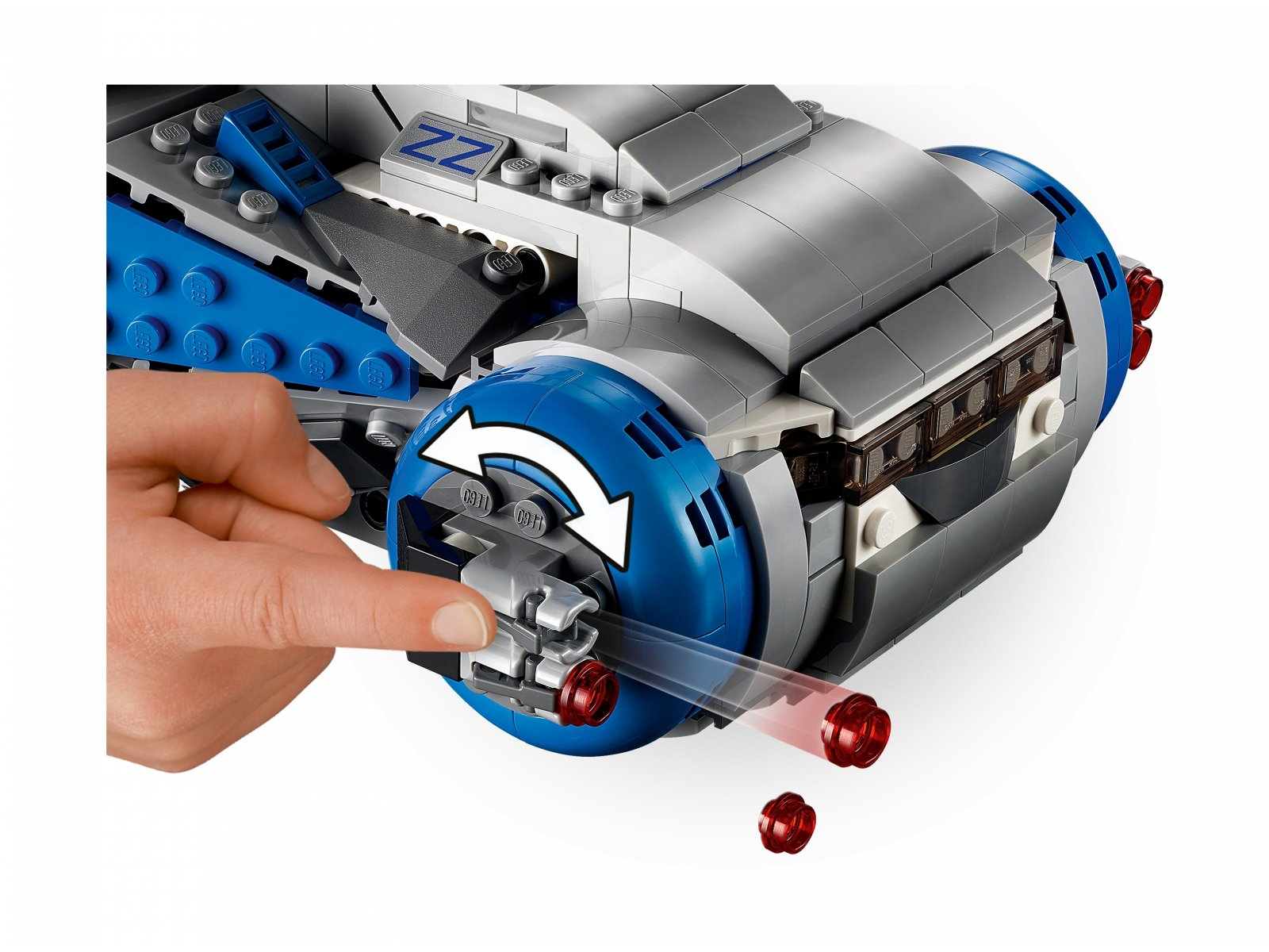 LEGO Star Wars 75293 Pojazd transportowy I-TS Ruchu Oporu