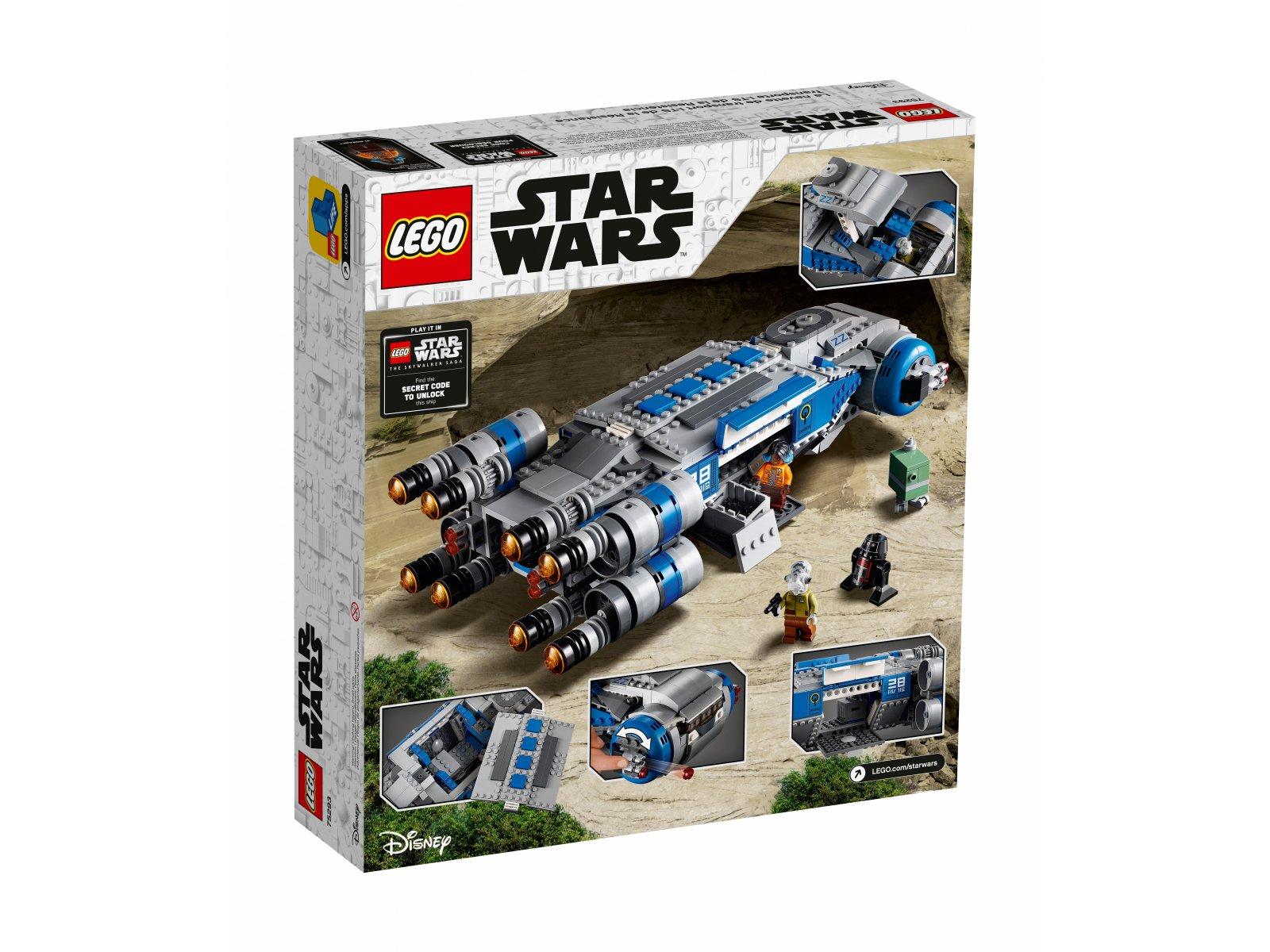 LEGO Star Wars™ 75293 Pojazd transportowy I-TS Ruchu Oporu
