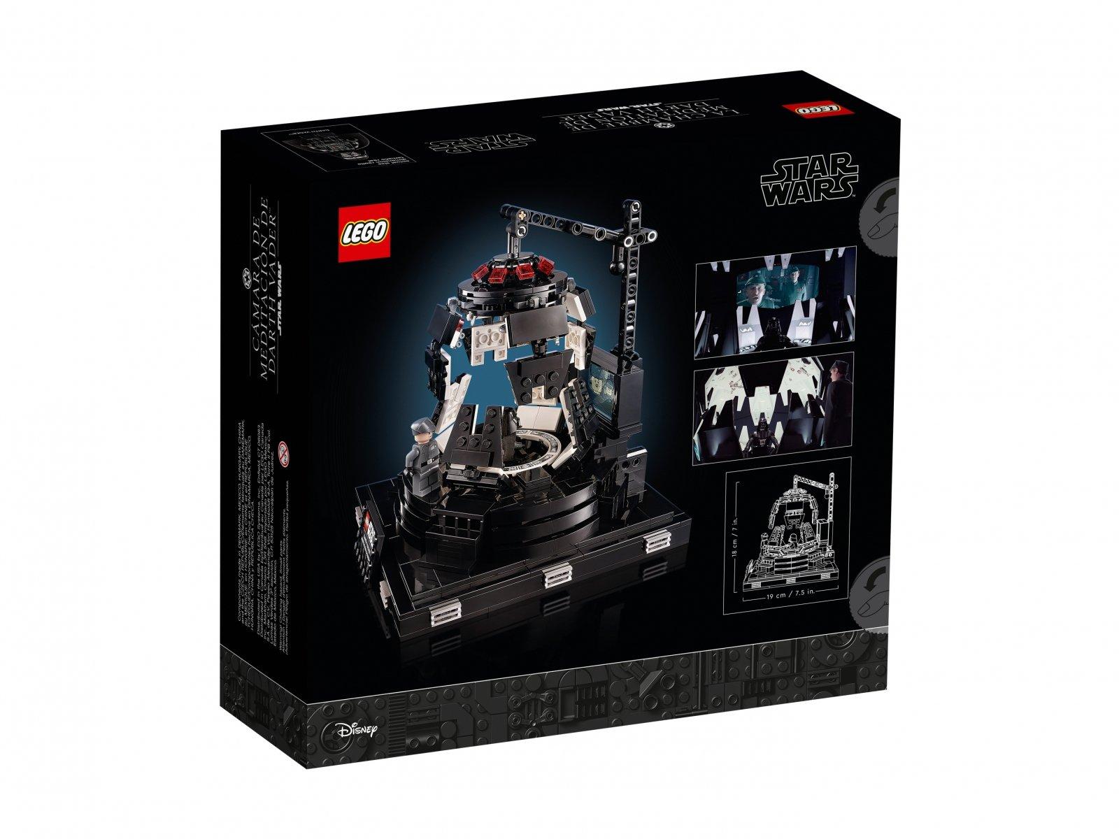 LEGO Star Wars Komnata medytacyjna Dartha Vadera™ 75296