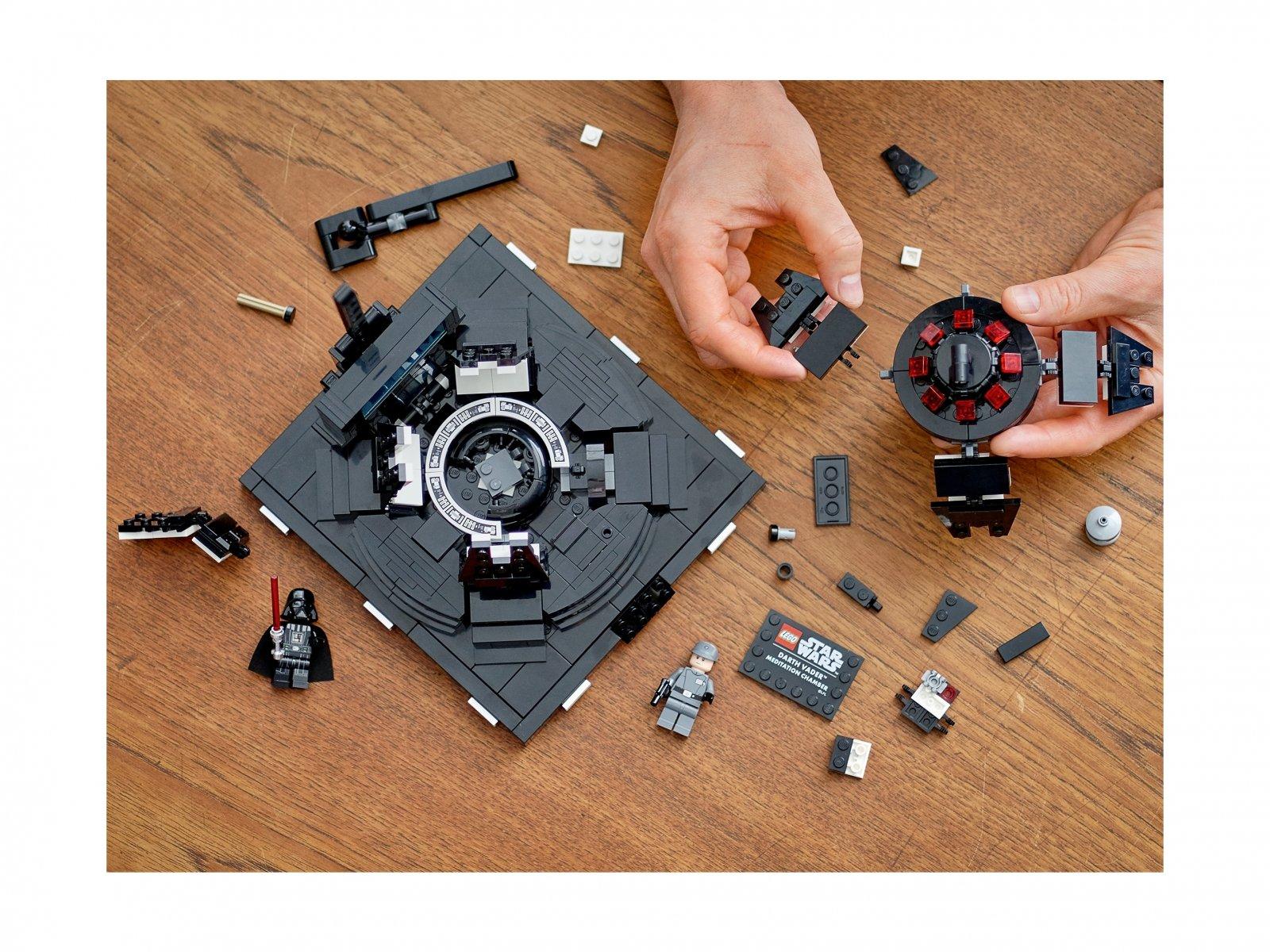 LEGO 75296 Star Wars Komnata medytacyjna Dartha Vadera™