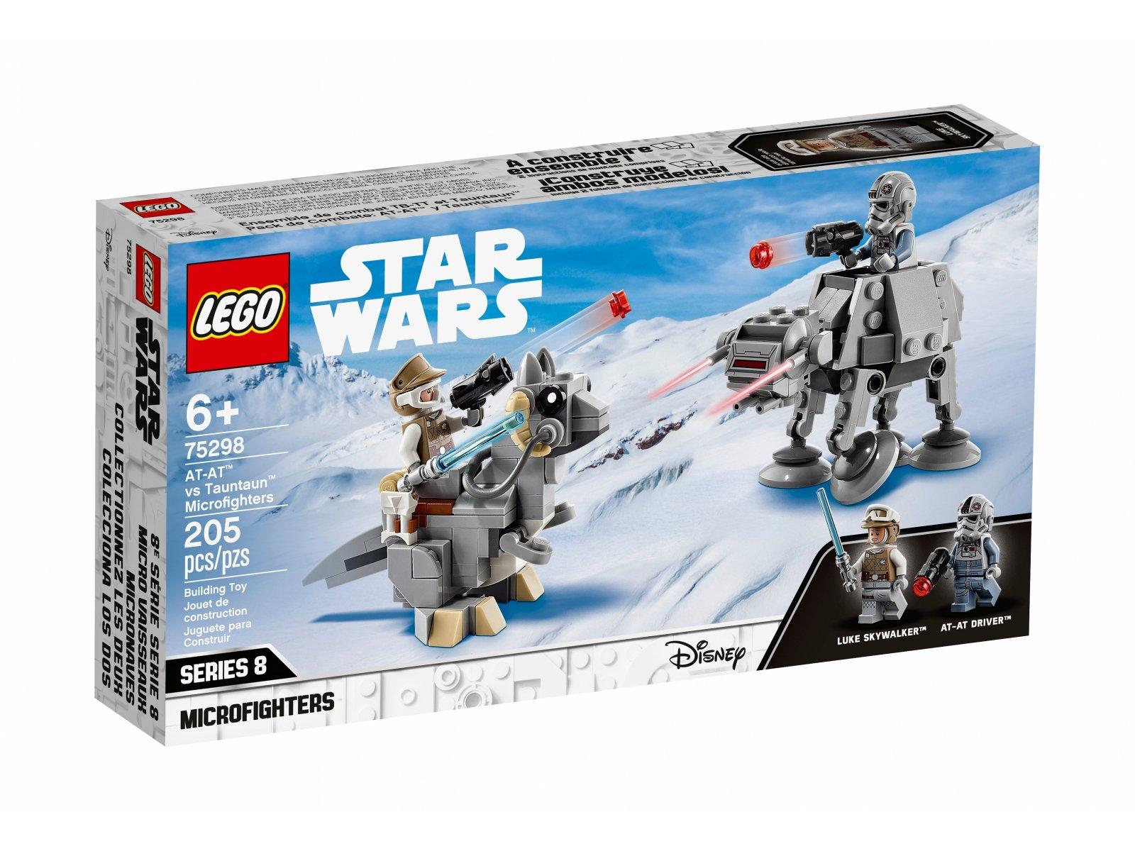 LEGO 75298 Star Wars Mikromyśliwce: AT-AT™ kontra Tauntaun™