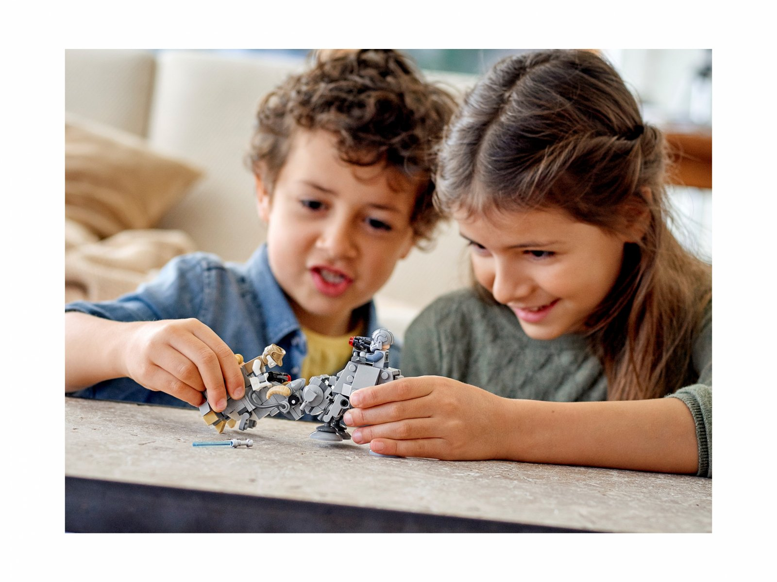 LEGO Star Wars 75298 Mikromyśliwce: AT-AT™ kontra Tauntaun™