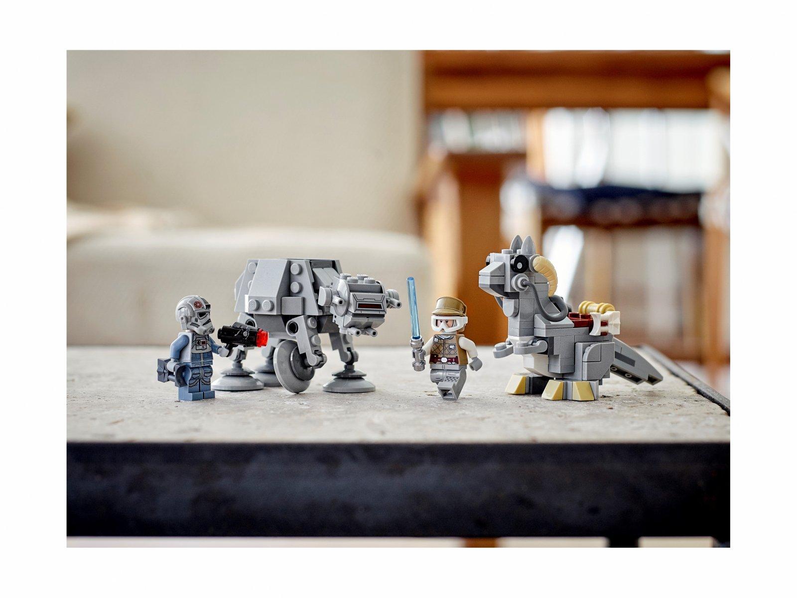LEGO Star Wars Mikromyśliwce: AT-AT™ kontra Tauntaun™ 75298