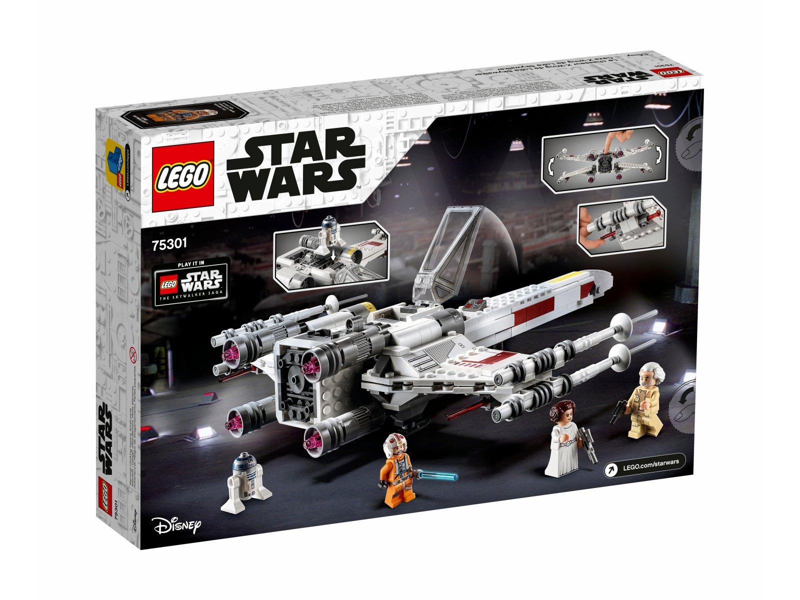 LEGO Star Wars™ Myśliwiec X-Wing™ Luke'a Skywalkera 75301